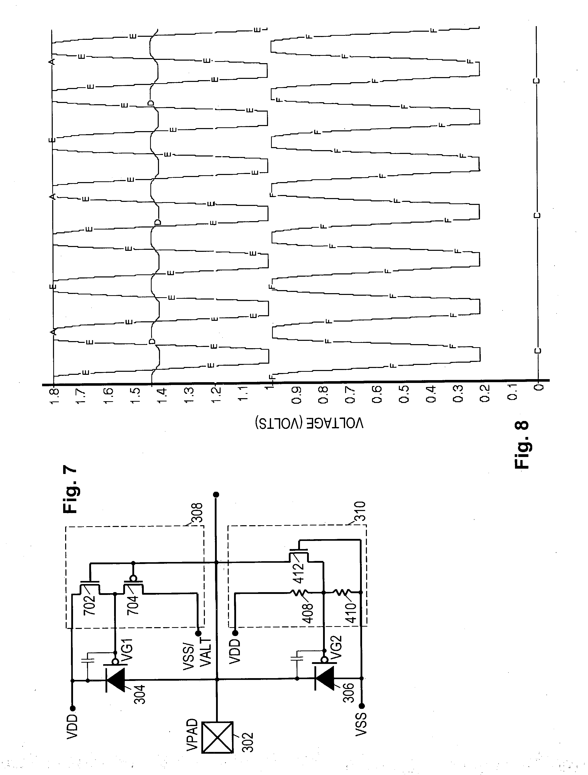 Patent Us20040240127 Gated Diode Overvoltage Protection Google Circuit Symbol With Anode Cathode Labeled Drawing