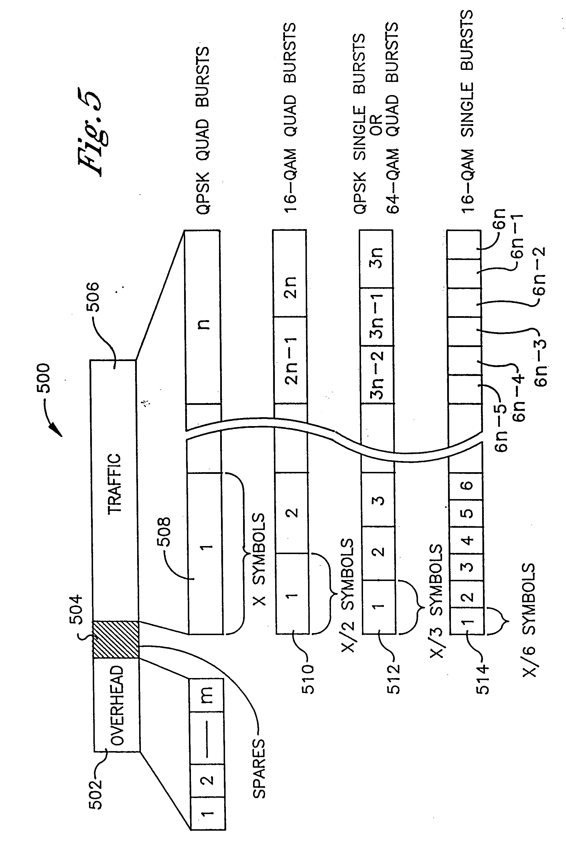 Patent US20040246891 - Air interface frame formatting - Google Patents