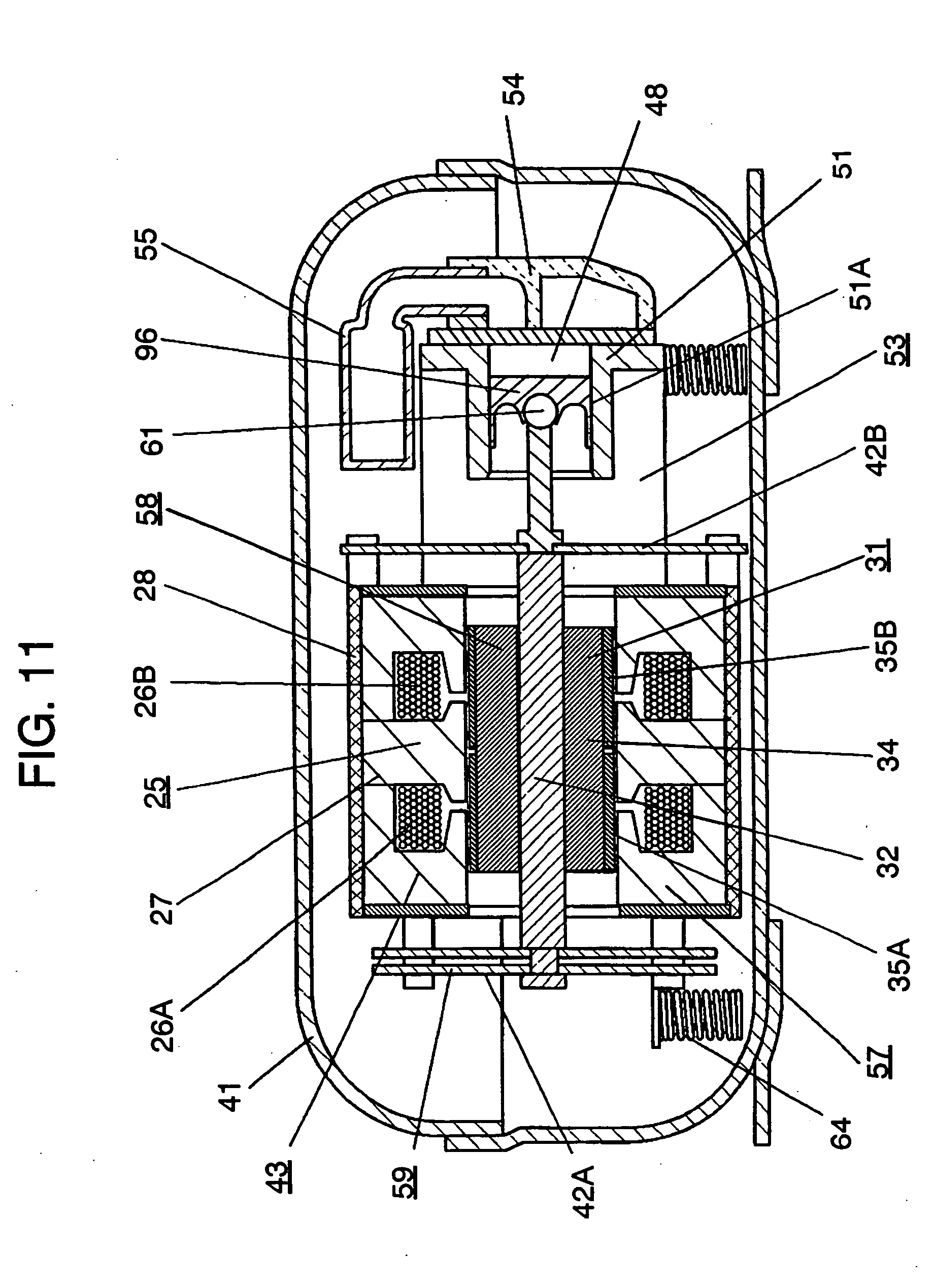patent us20040251748 - linear motor, and linear compressor ... 12v linear actuator wiring diagram #4