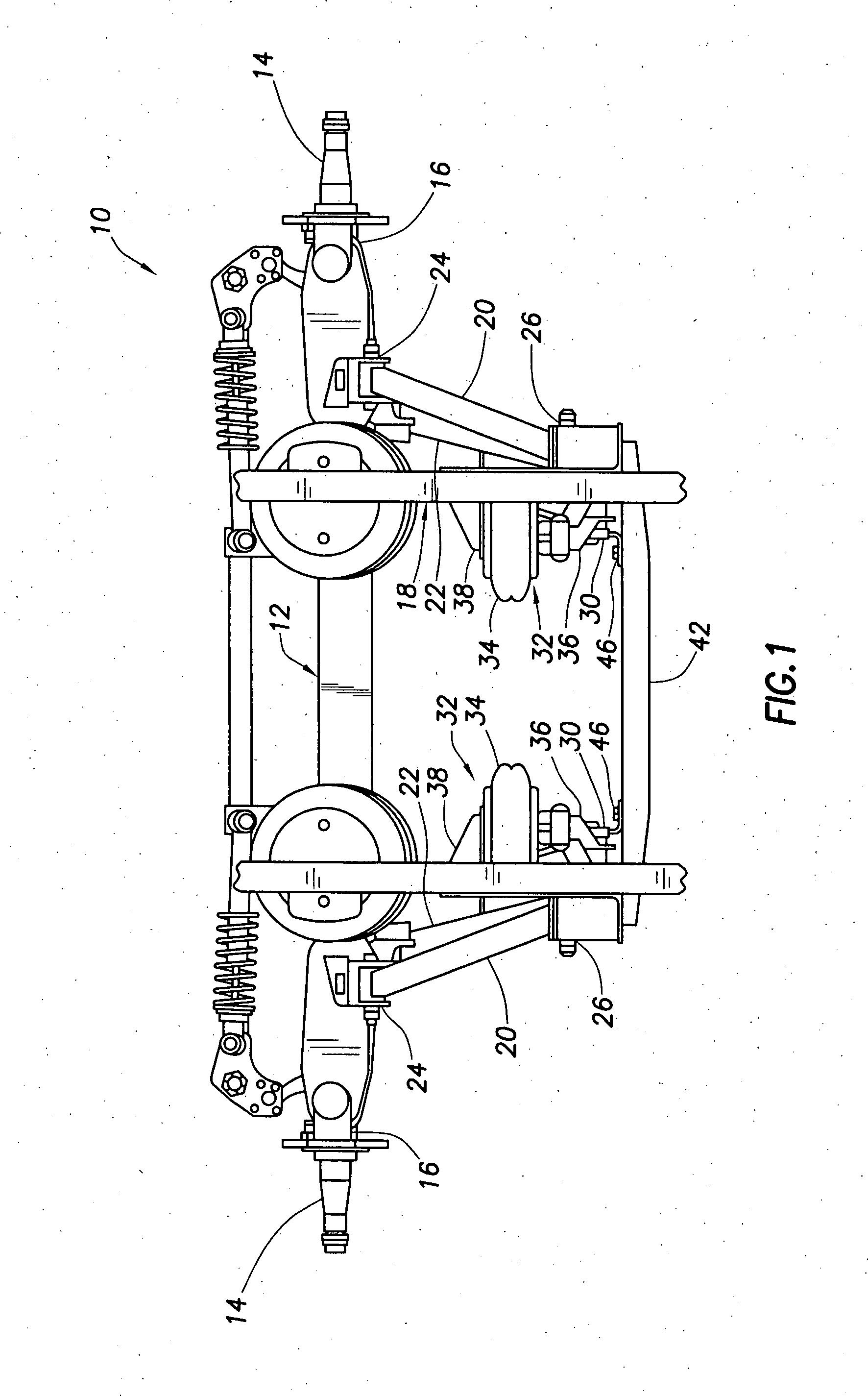 Patent Us20040256820 Lift Axle Parallelogram Suspension
