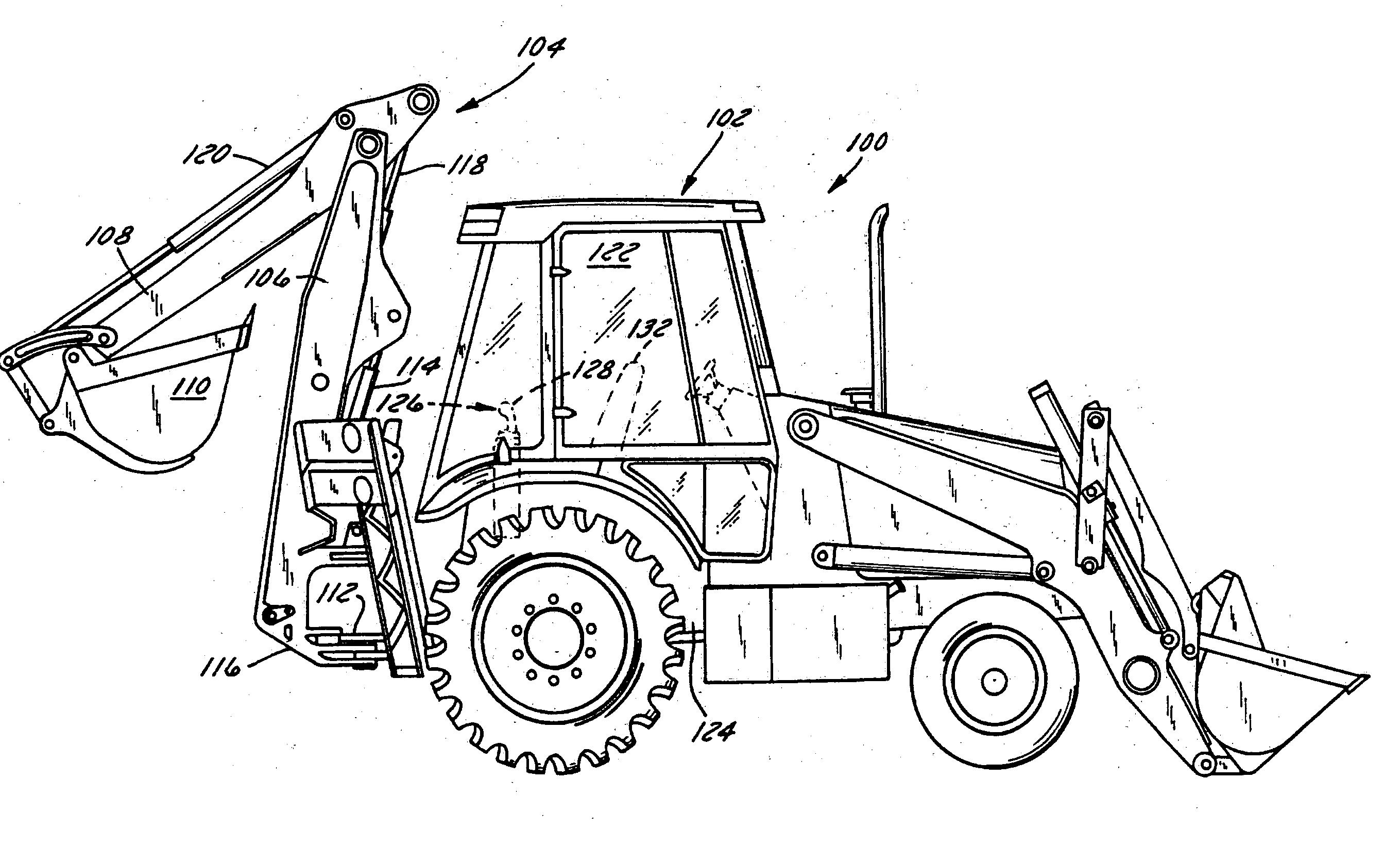Patent US20040261300 - Modular Backhoe-excavator Control Station - Google Patents