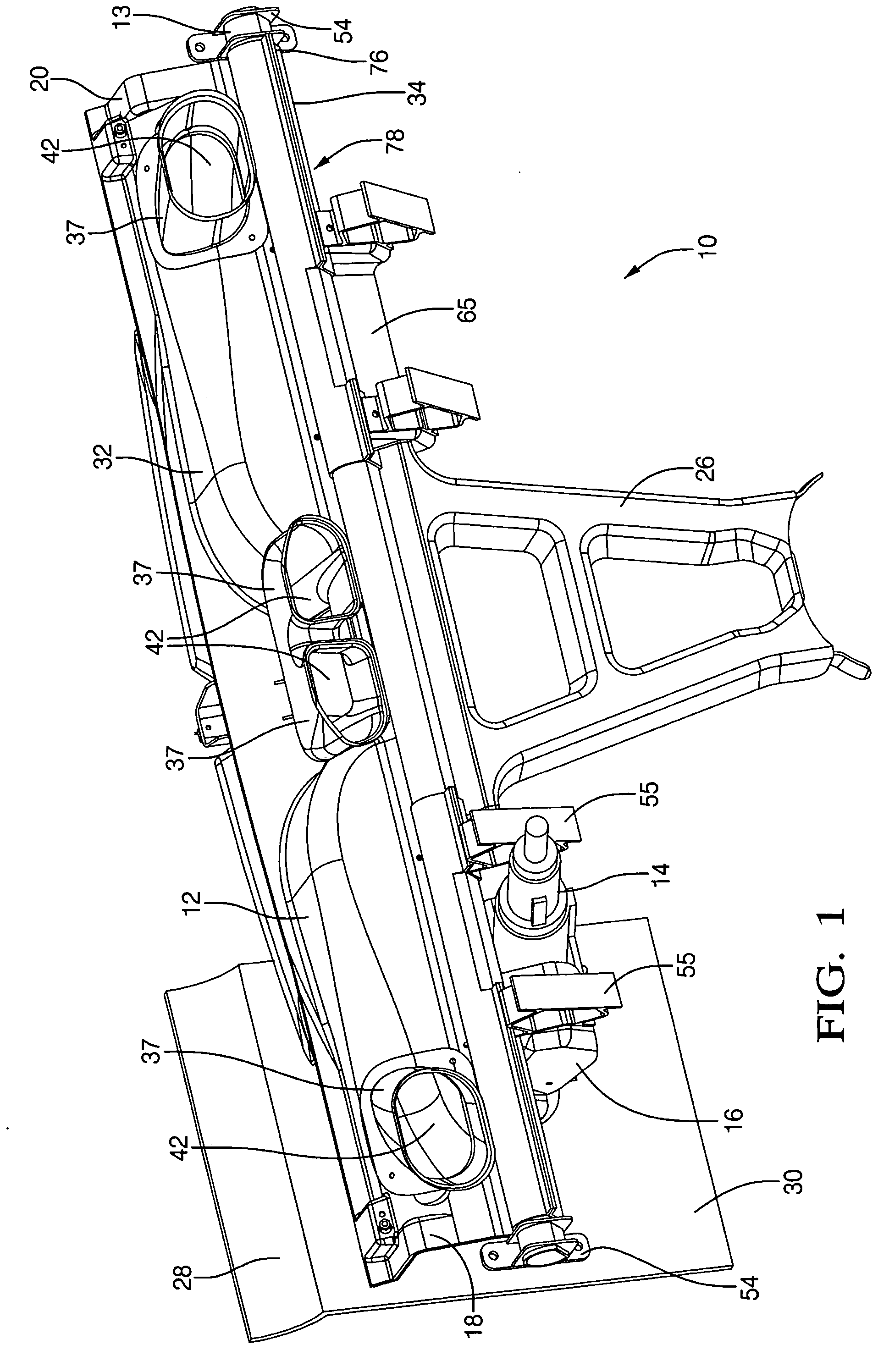 Patent us20040262954 structural hybrid attachment system for Structural integrated panels