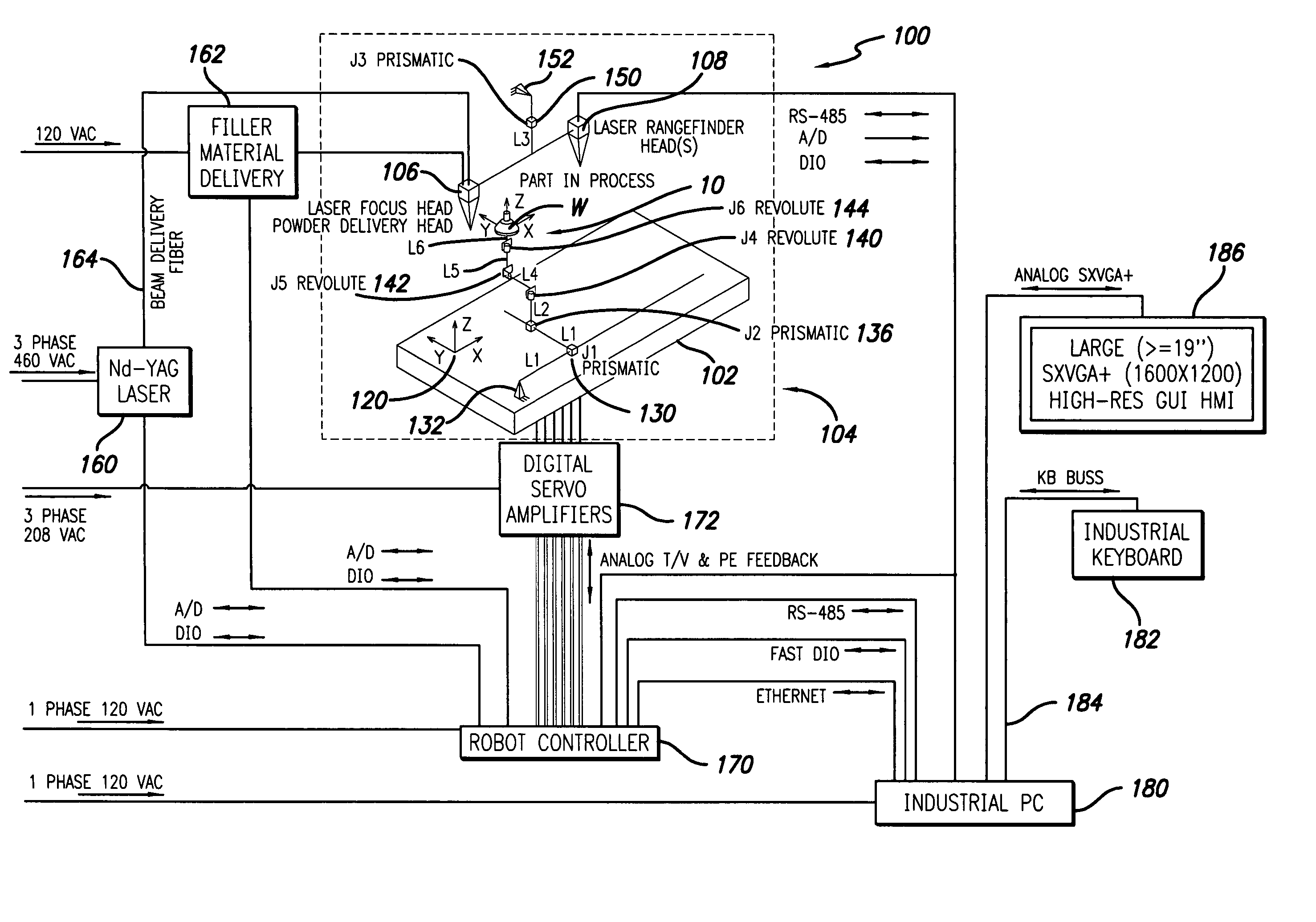 patent us d adaptive laser powder fusion welding patent drawing