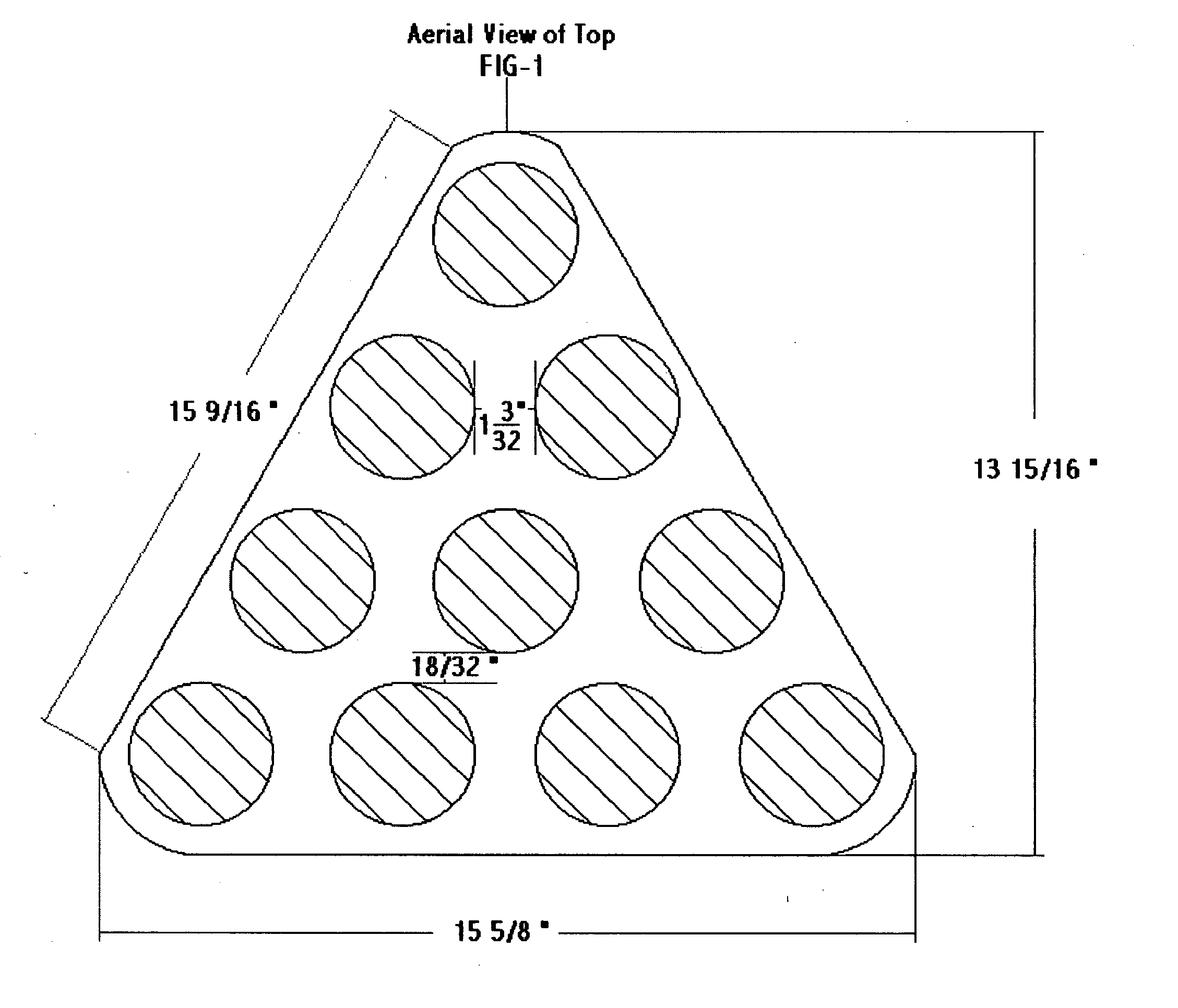 Patent us20050029747 drinking game cup holder google patents - Beer pong table triangle dimensions ...