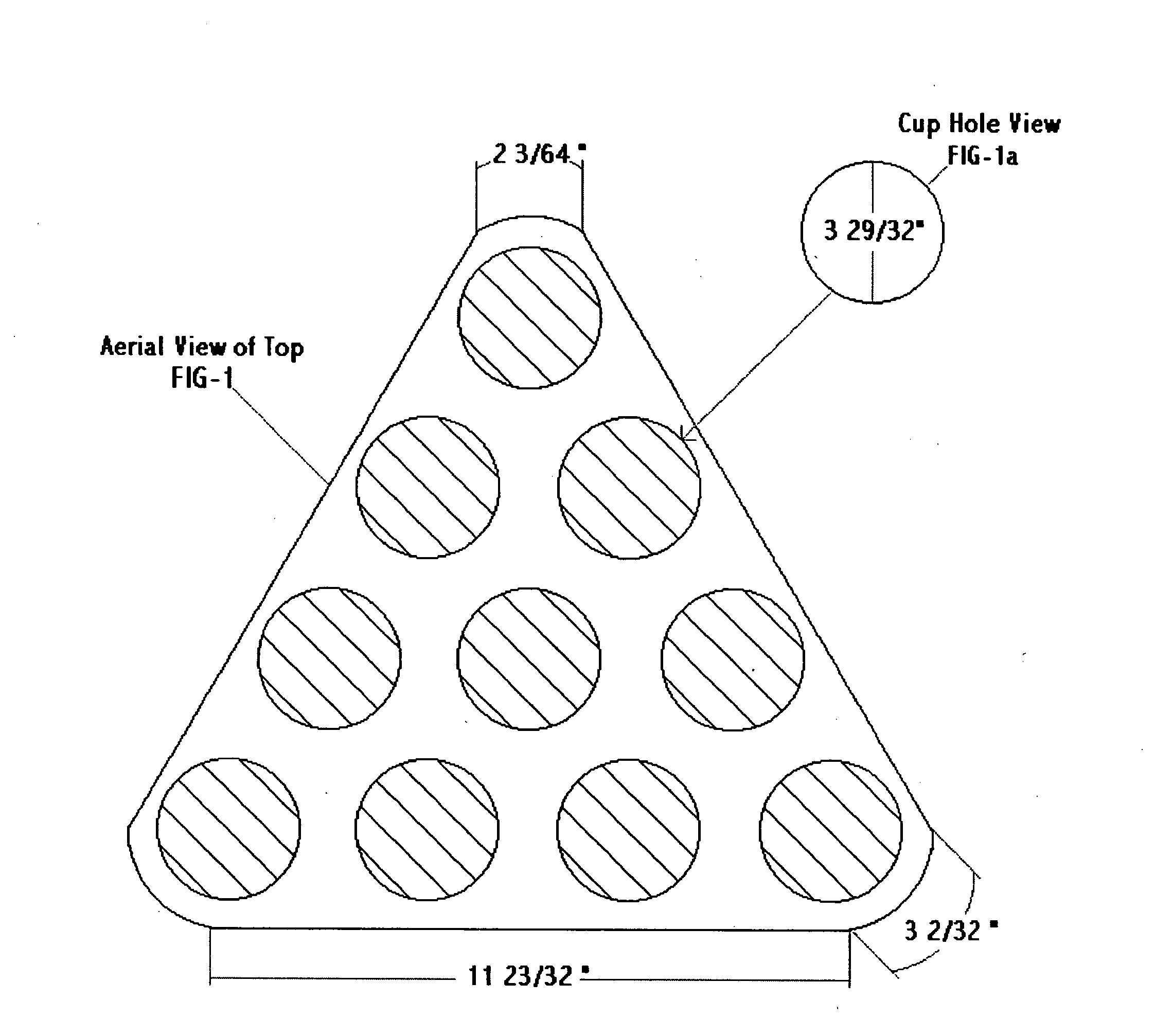 Patent Us20050029747 Drinking Game Cup Holder Google