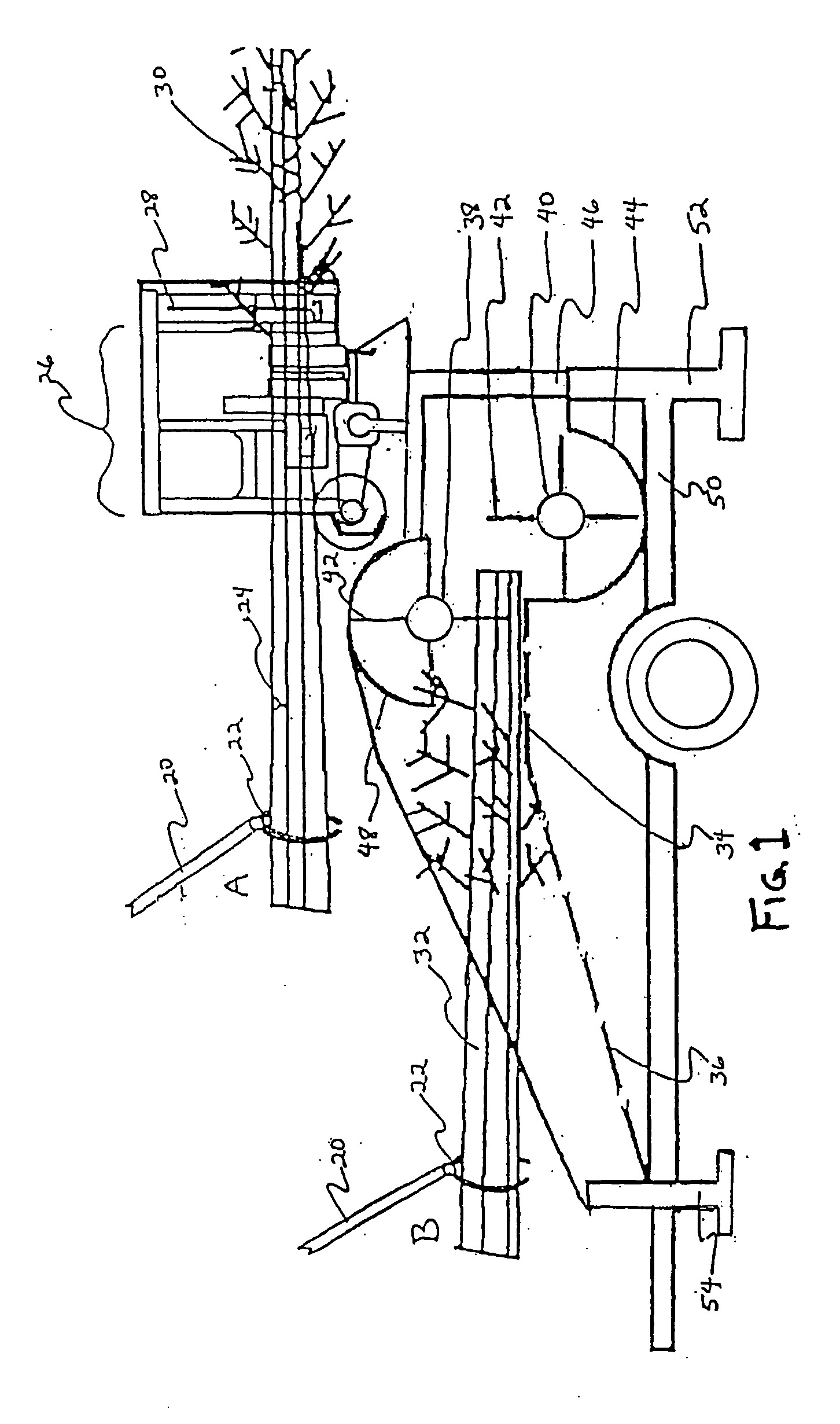 Patent US20050034784 - Stripper and flail delimber and