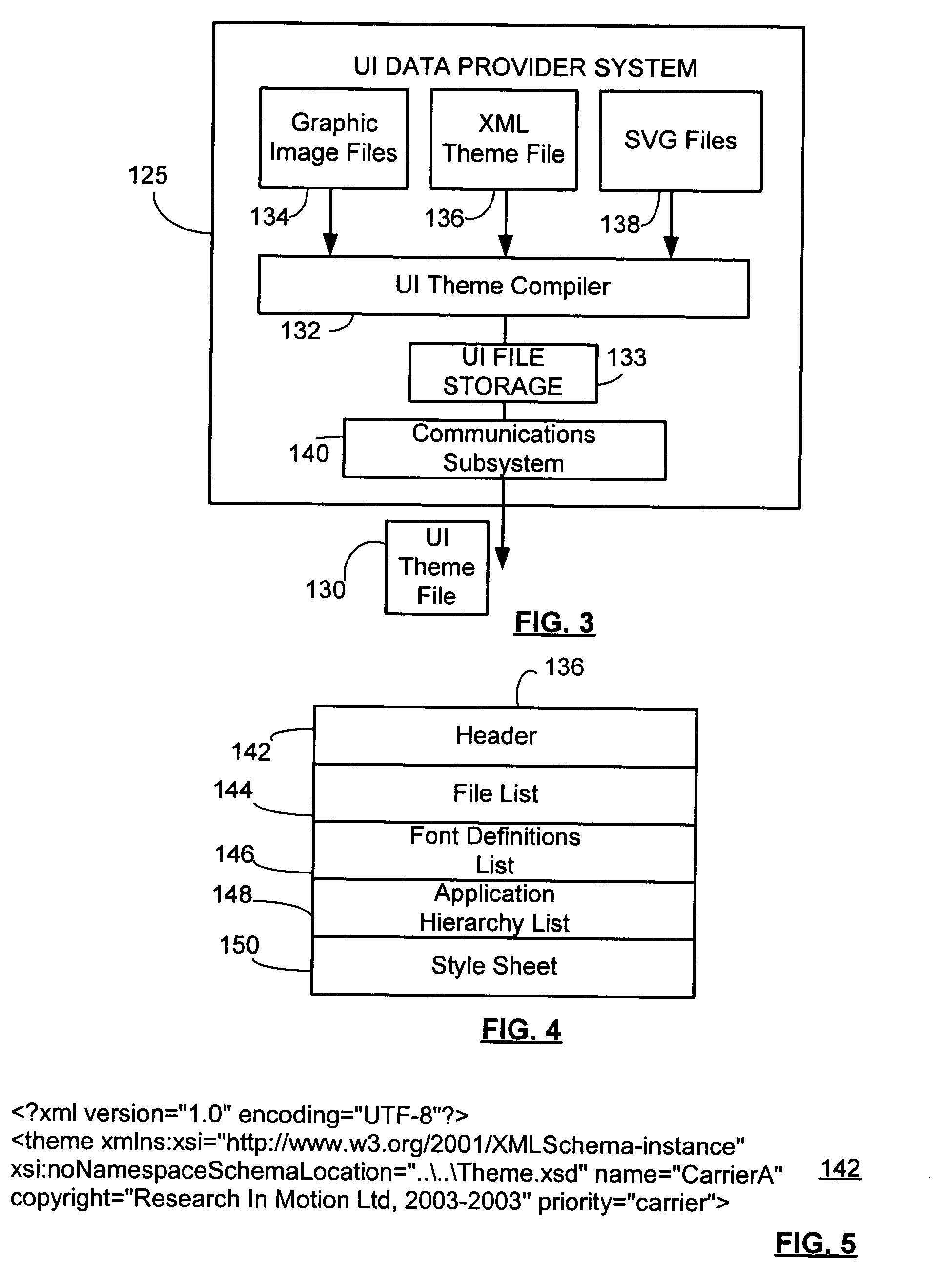 Patent Us20050050474 Method And Data Structure For User Interface Description Schematic Block Diagram Examplejpg Drawing
