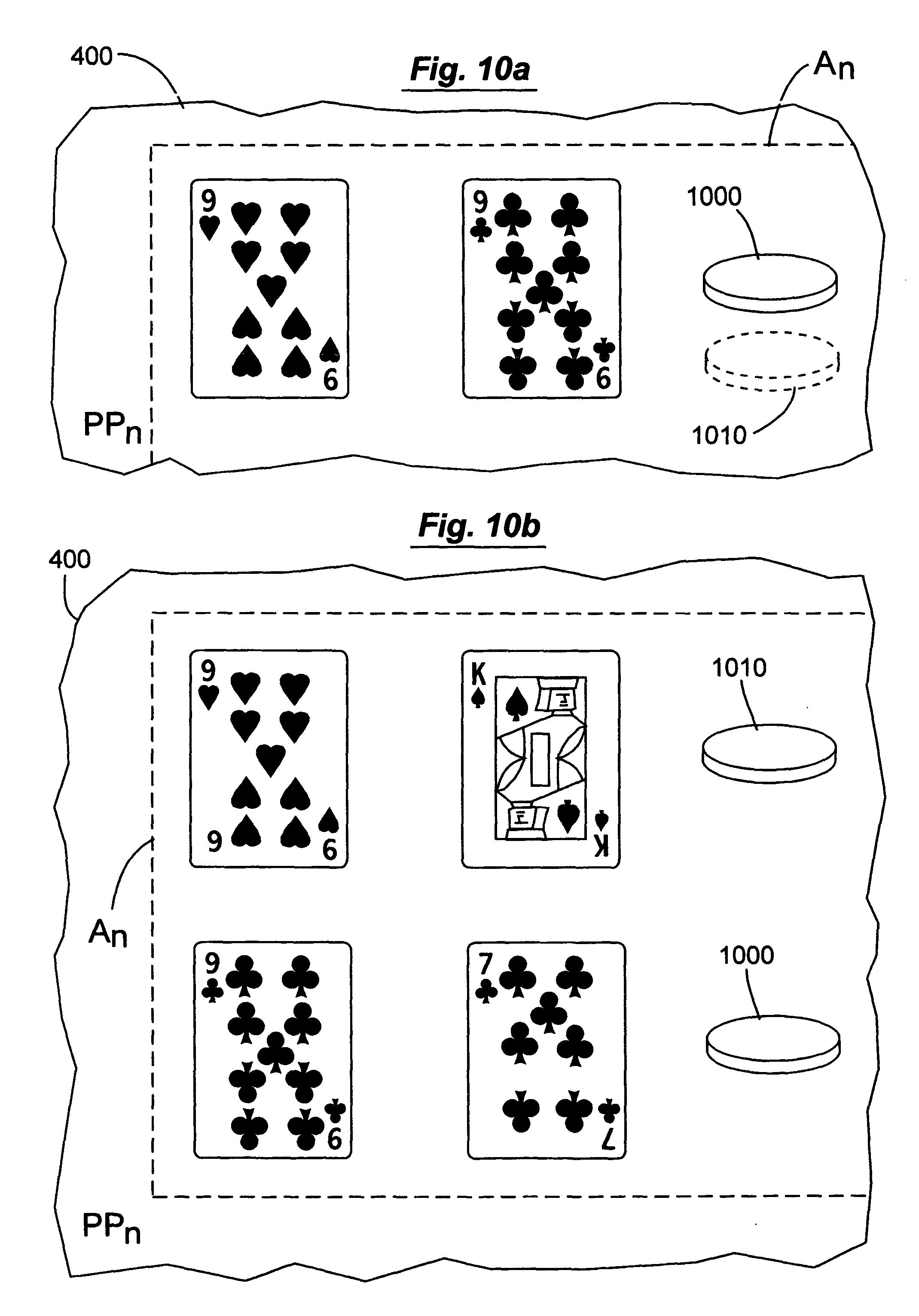 patenting a casino card game