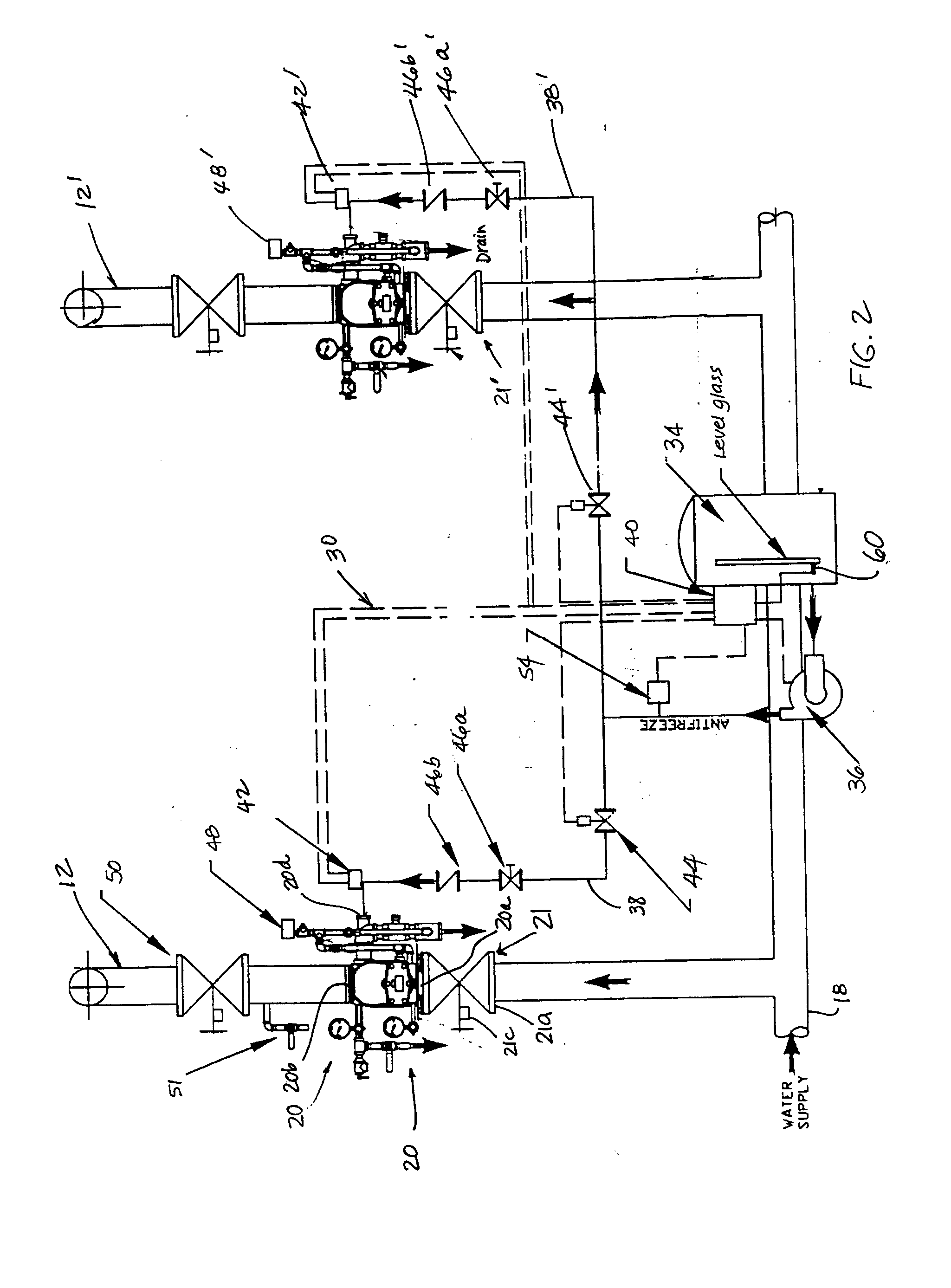 patent us20050072580 preaction fire extinguishing system for esfr Viking Sprinkler Systems patent drawing