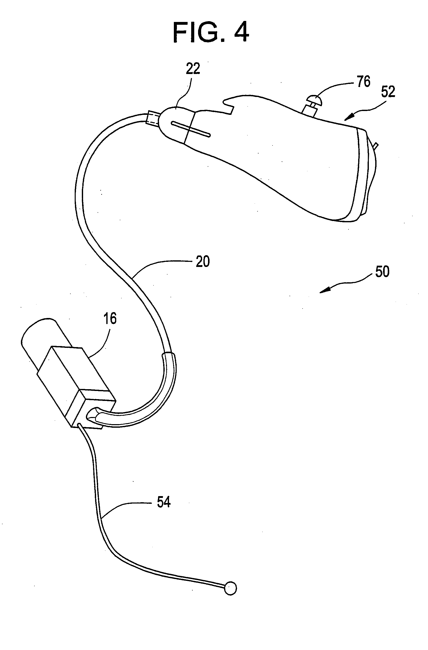patent us20050078843 - hearing aid system