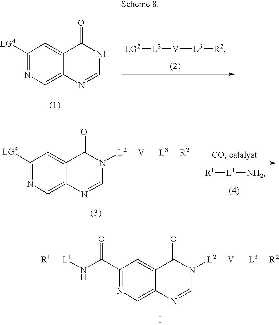 Patent US20050085447 - Pyrido[3,4-d]pyrimidine derivatives