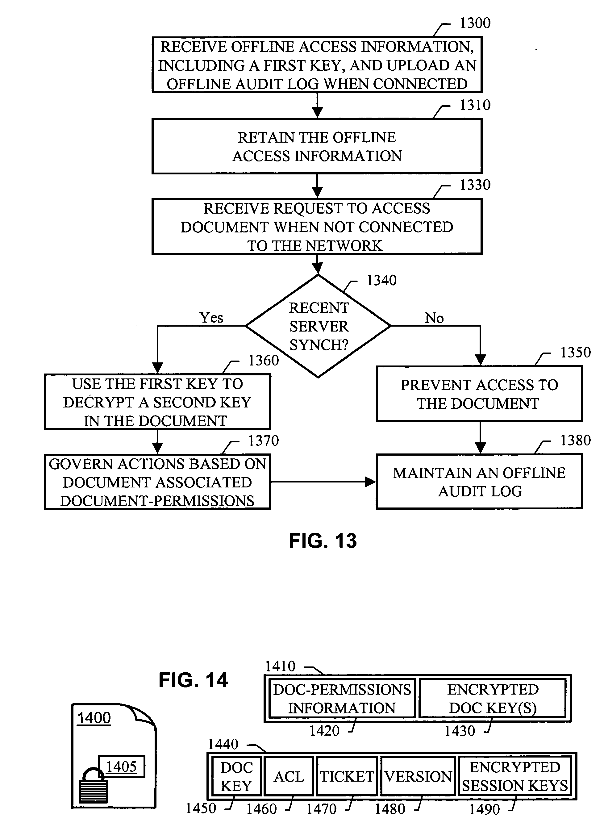 Patent us20050097441 distributed document version for Google documents version control