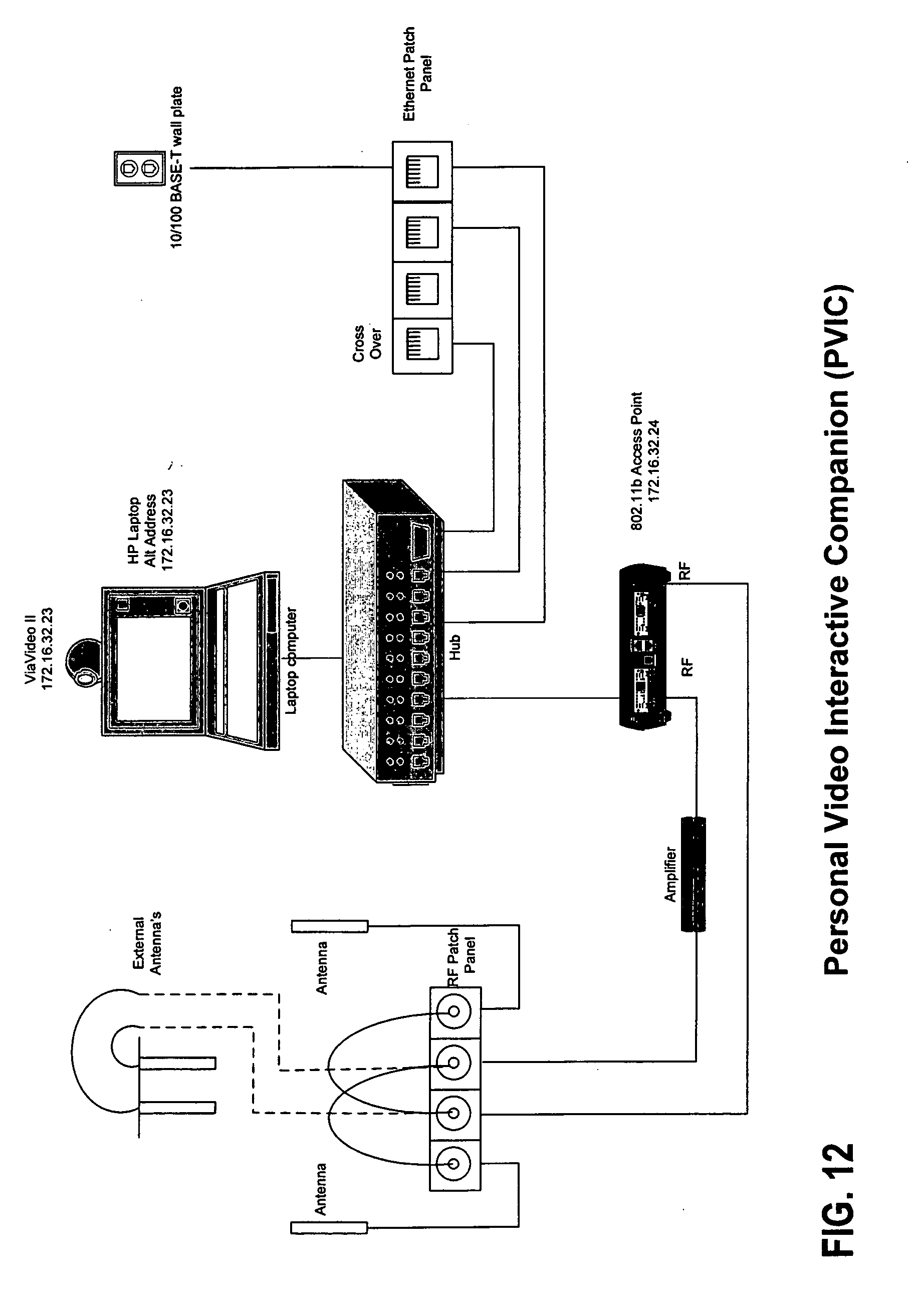 patent us20050099493  audio  data interactive companion  mvic  system