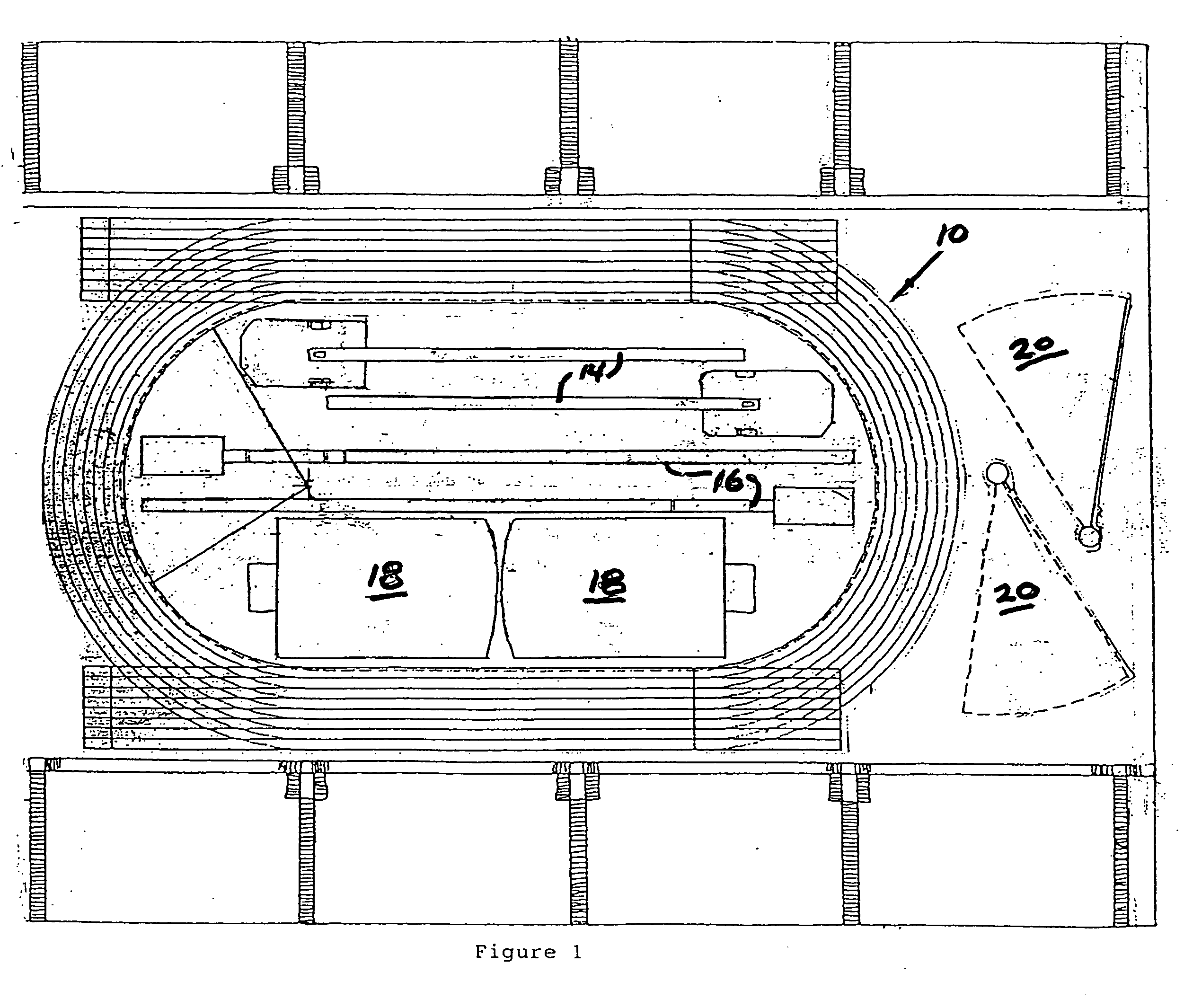 Patent Us20050107172 - Track And Field Arena