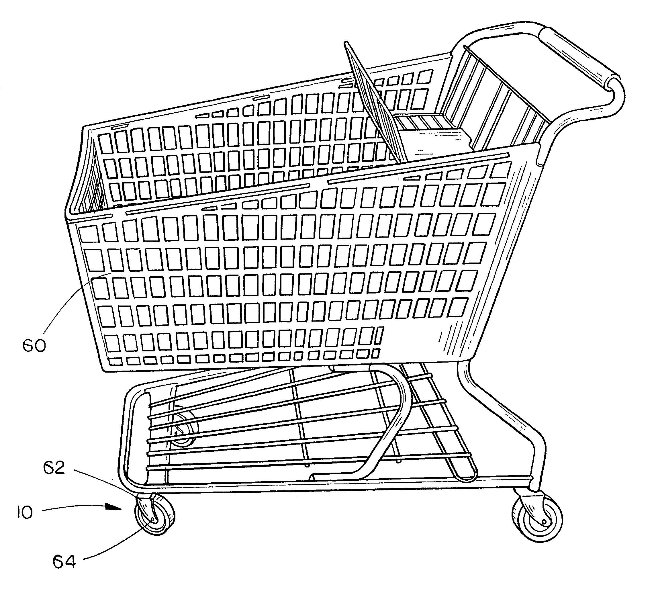 This is an image of Terrible Shopping Cart Drawing