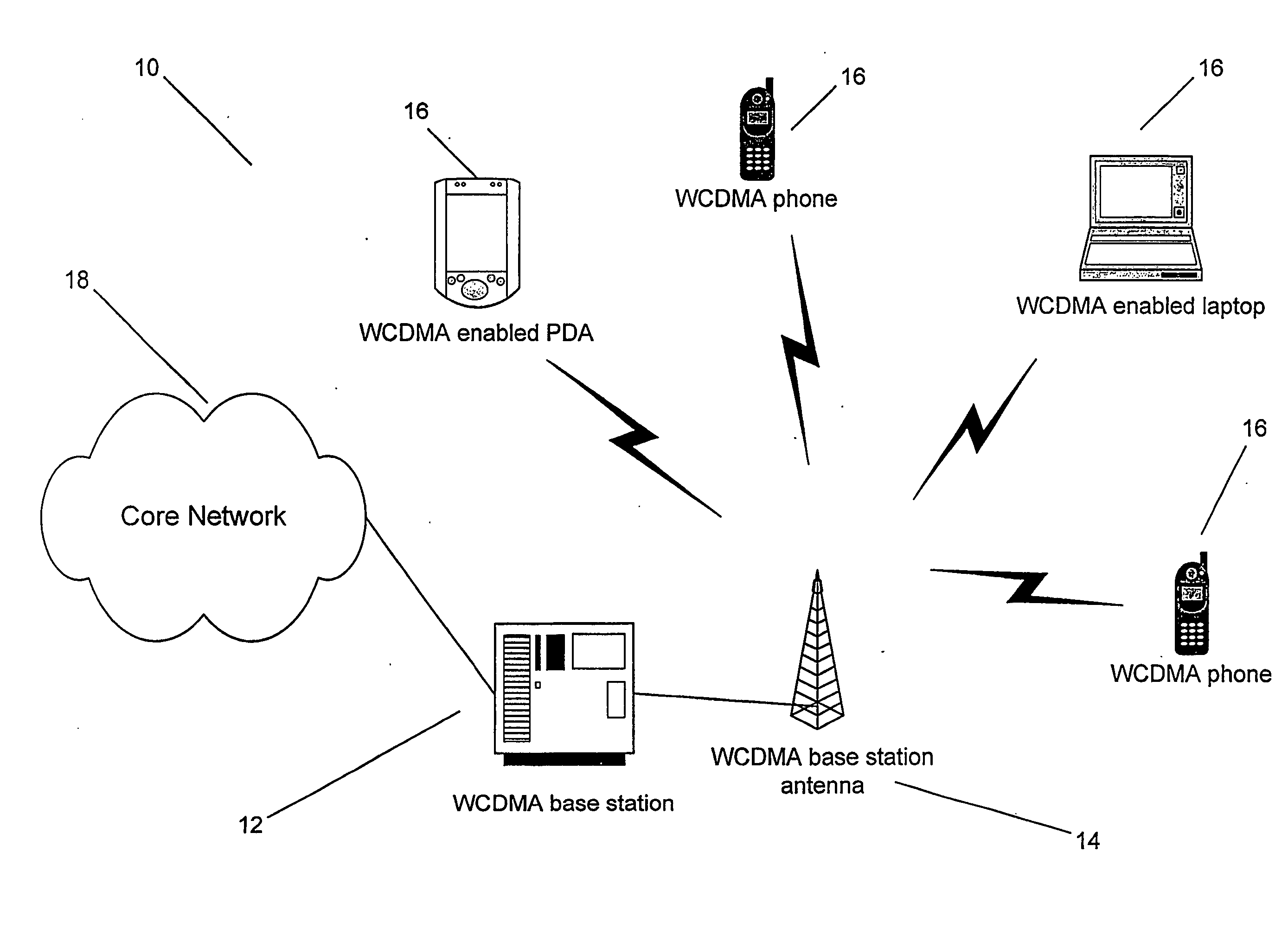 Patent US20050117548 - Nonblocking ovsf codes for 3g