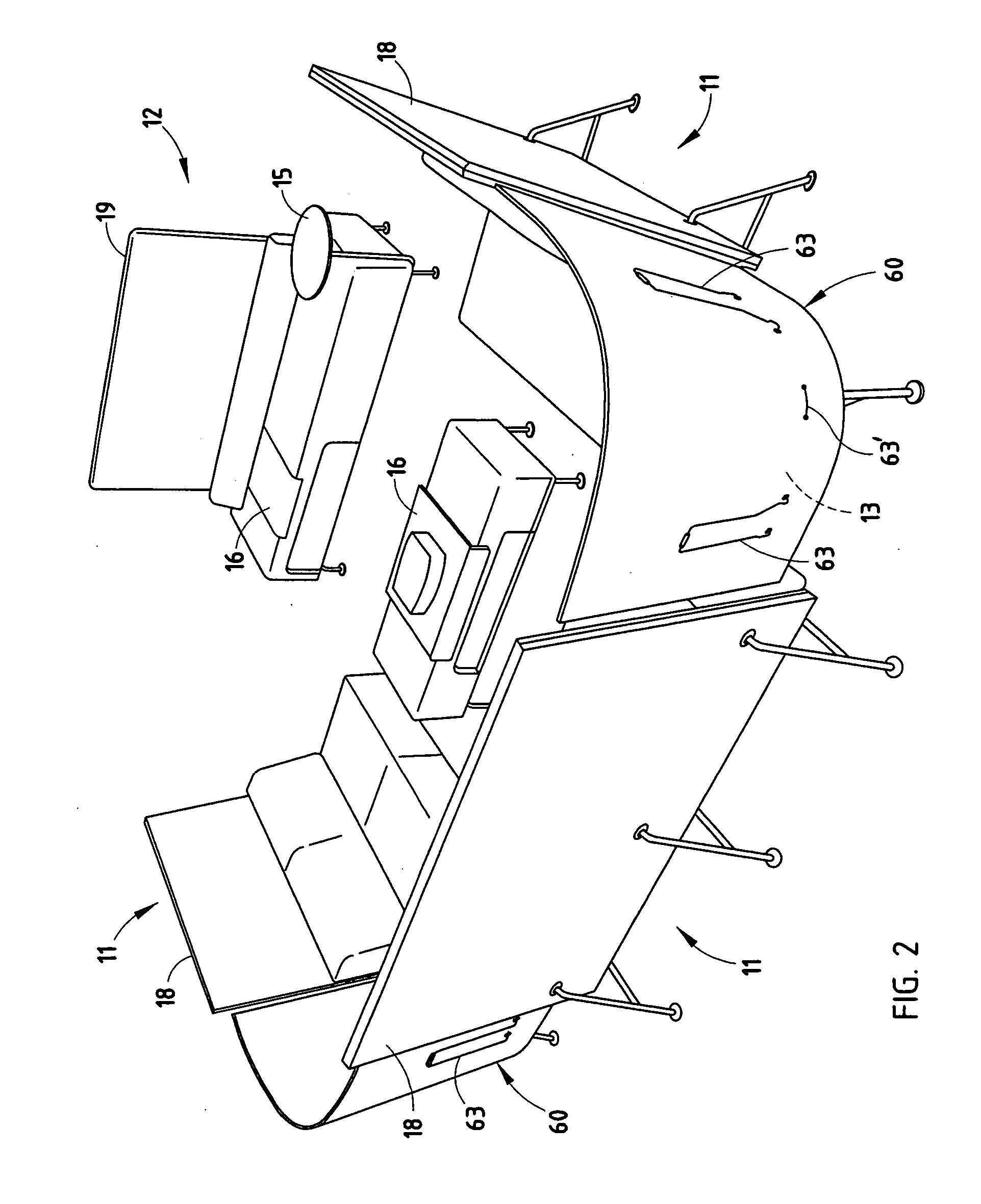 Patent Us20050126446 Table Mounted Screen Apparatus Google Patents Steelcase Wiring Schematic Drawing