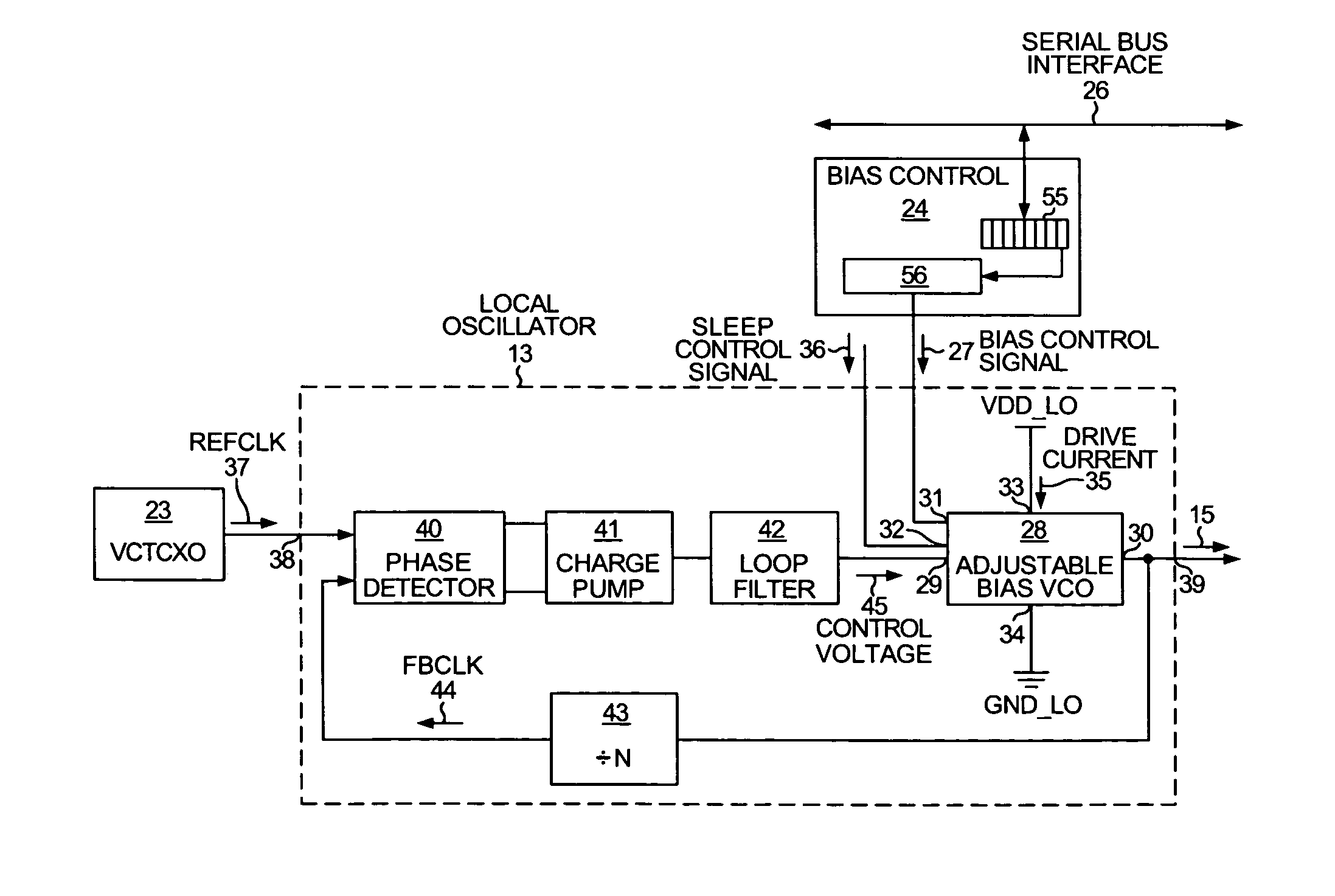 Patent Us20050134336 Adjustable Bias Vco Google Patents Circuit Diagram Drawing