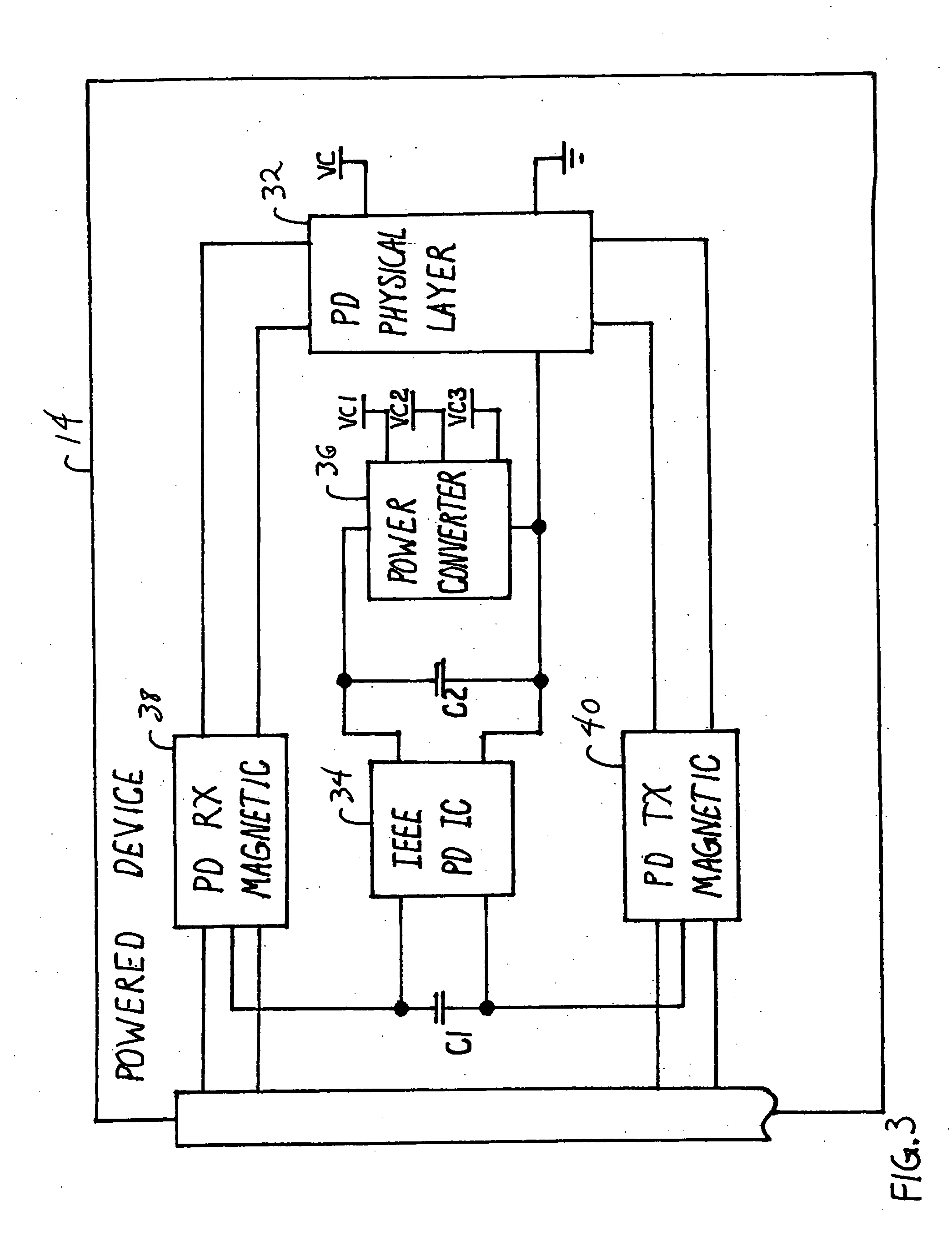 Patent Us20050141698 Enabling Cisco Legacy Power To Support Ieee Circuit Board Recycling Equipmentcircuit Electronic Drawing