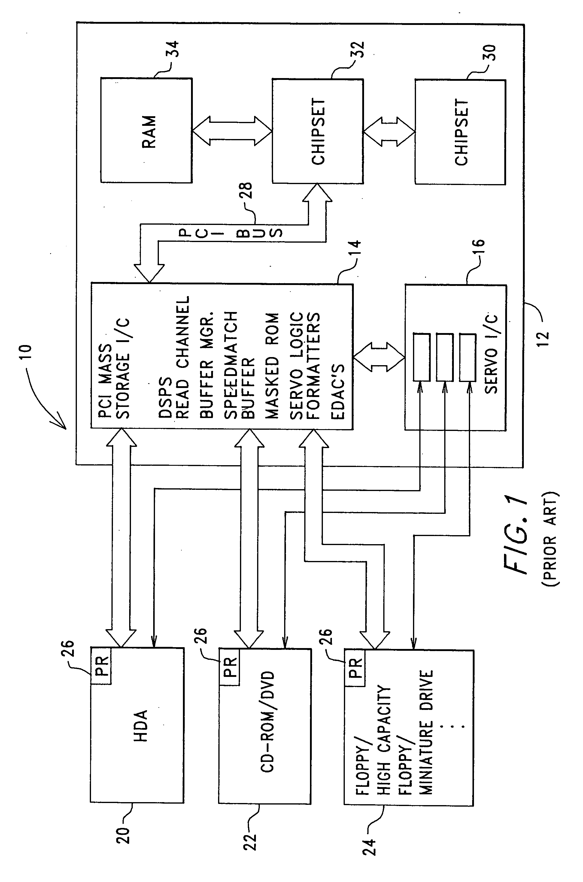 Patent Us20050154823 Digital Device Configuration And Method Circuit Diagram For Dvd Servo Control Drawing