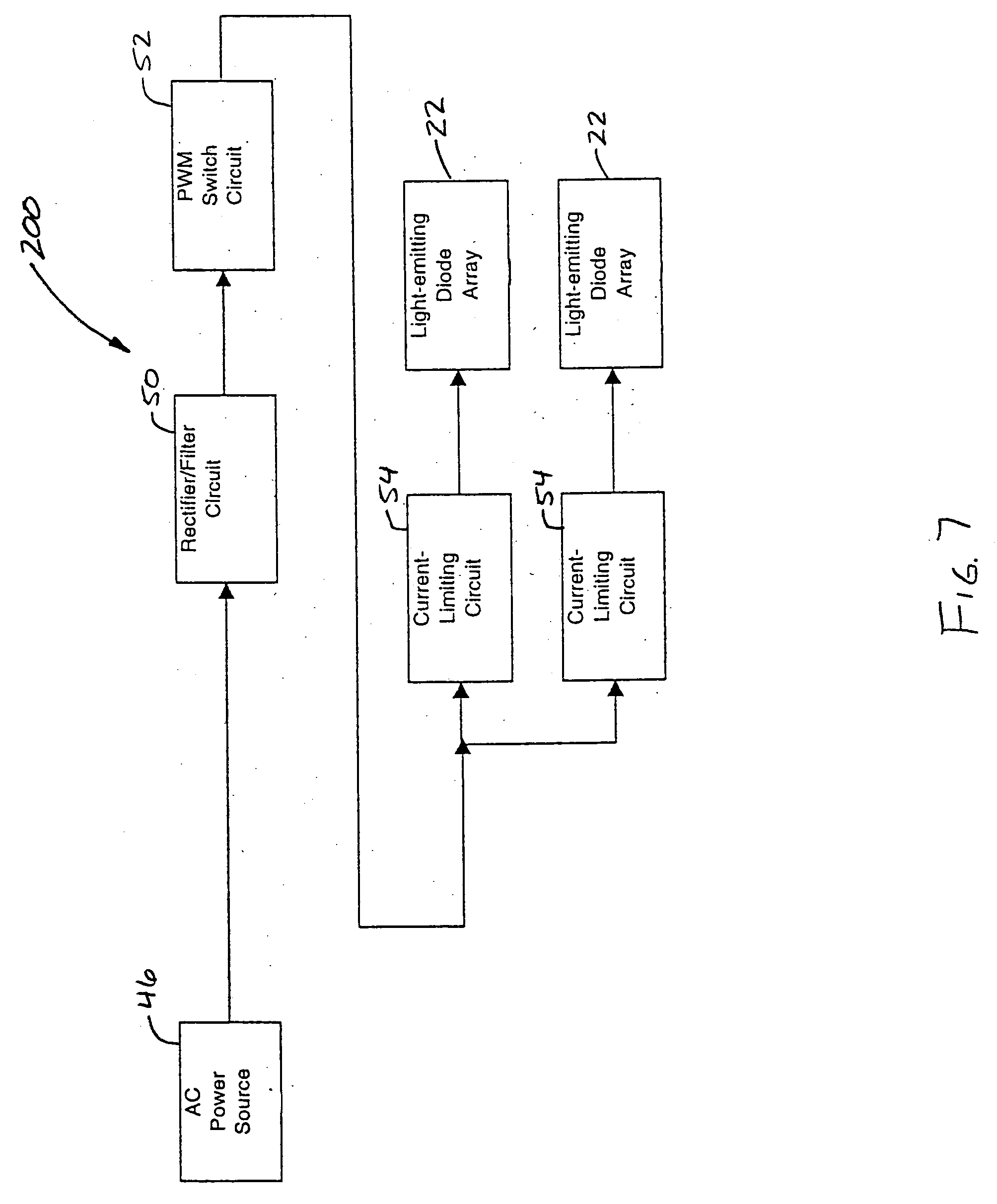 Patent Us20050162093 Light Tube And Power Supply Circuit Google Emitting Diode Drawing