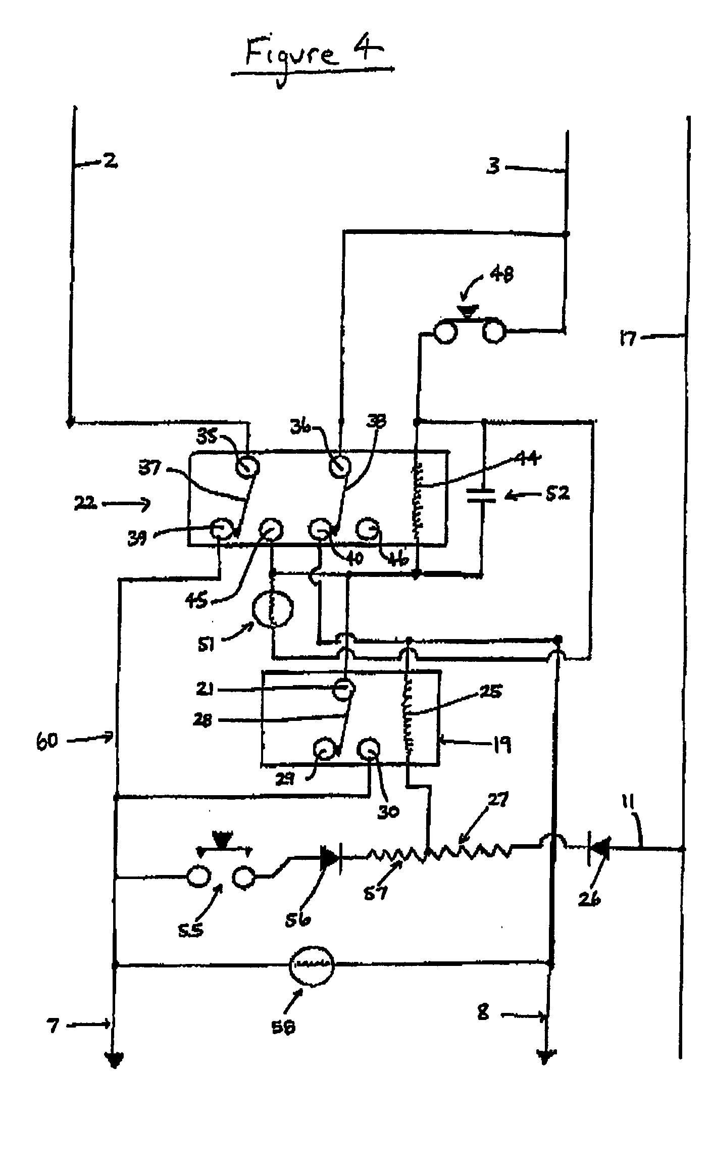 patent us20050207075 control circuit and a method for electrically Opto- Isolator Switch patent drawing