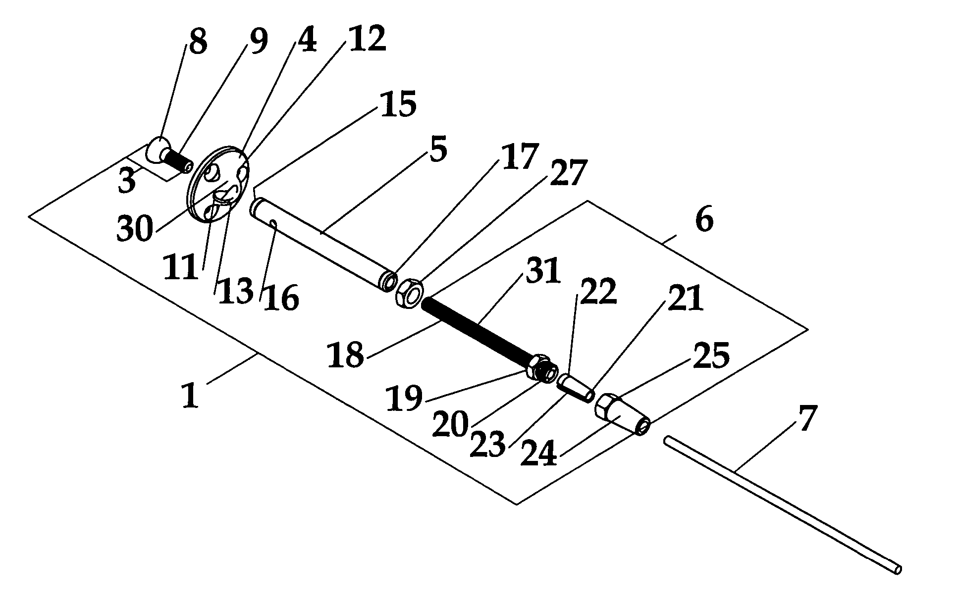 Brevet US20050207838 - Wire rope connectors and tensioners for
