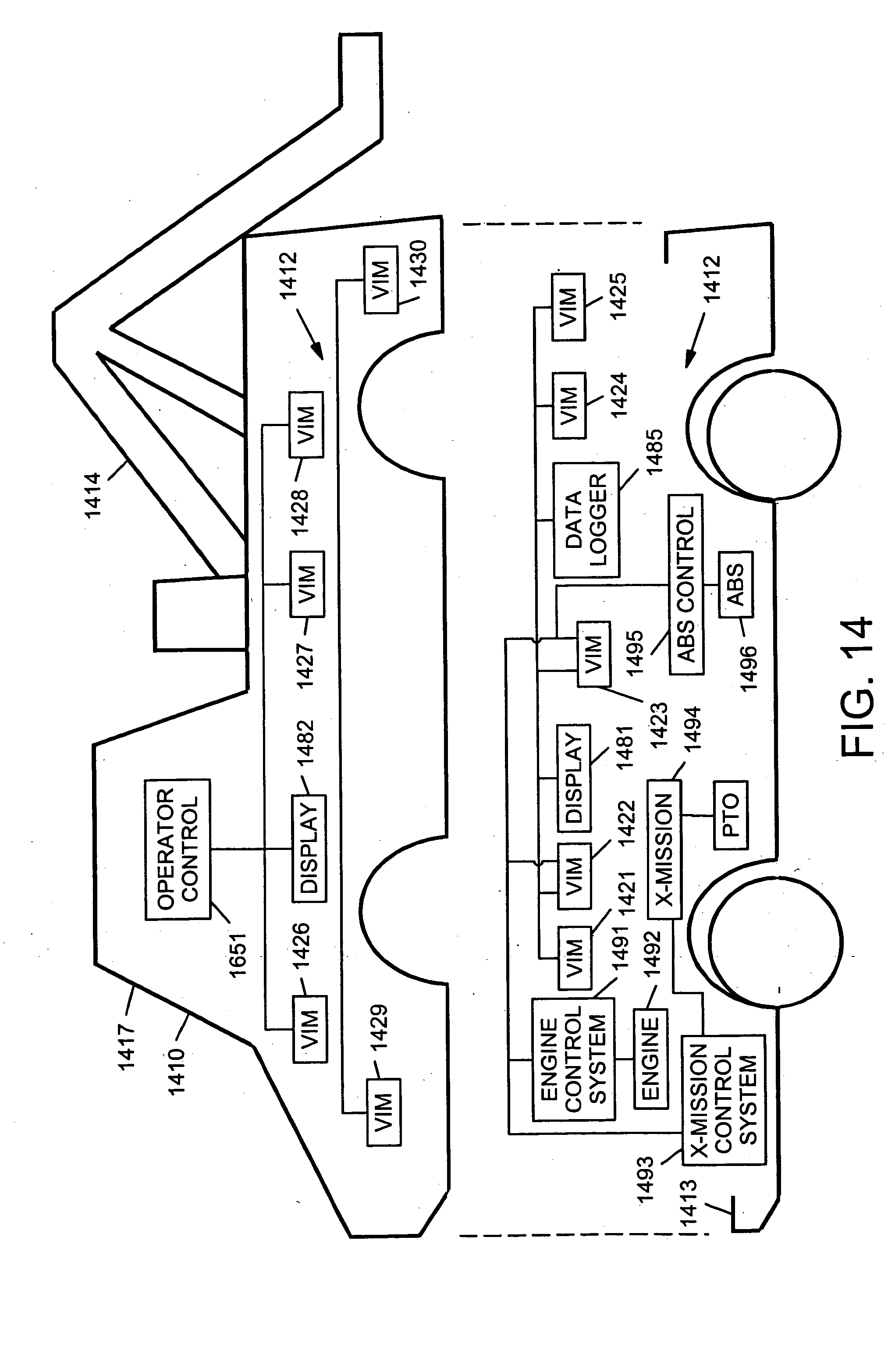 Patent Us20050209747 Control System And Method For Electric 1952 International Engine Diagram Drawing