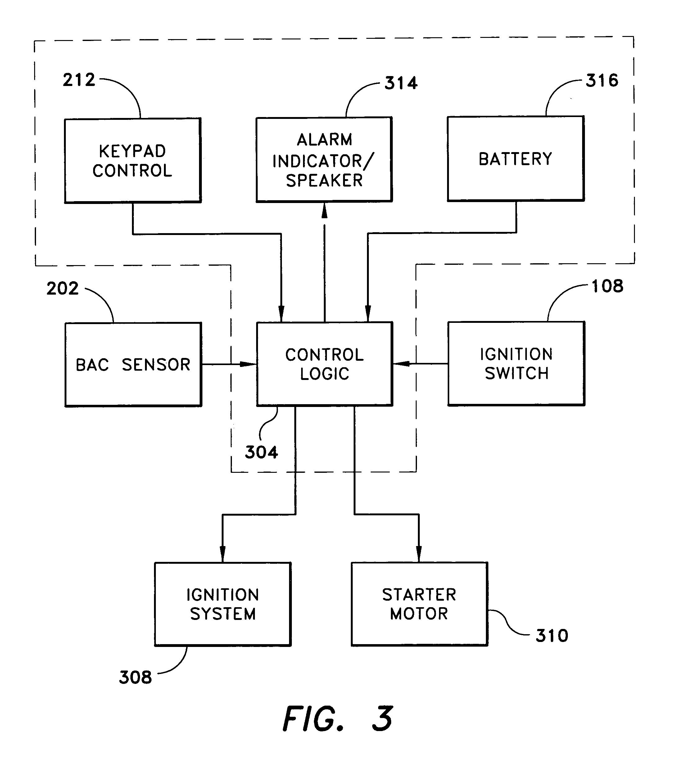 US20050230175A1 20051020 D00003 ignition interlock device wiring diagram detailed schematics diagram