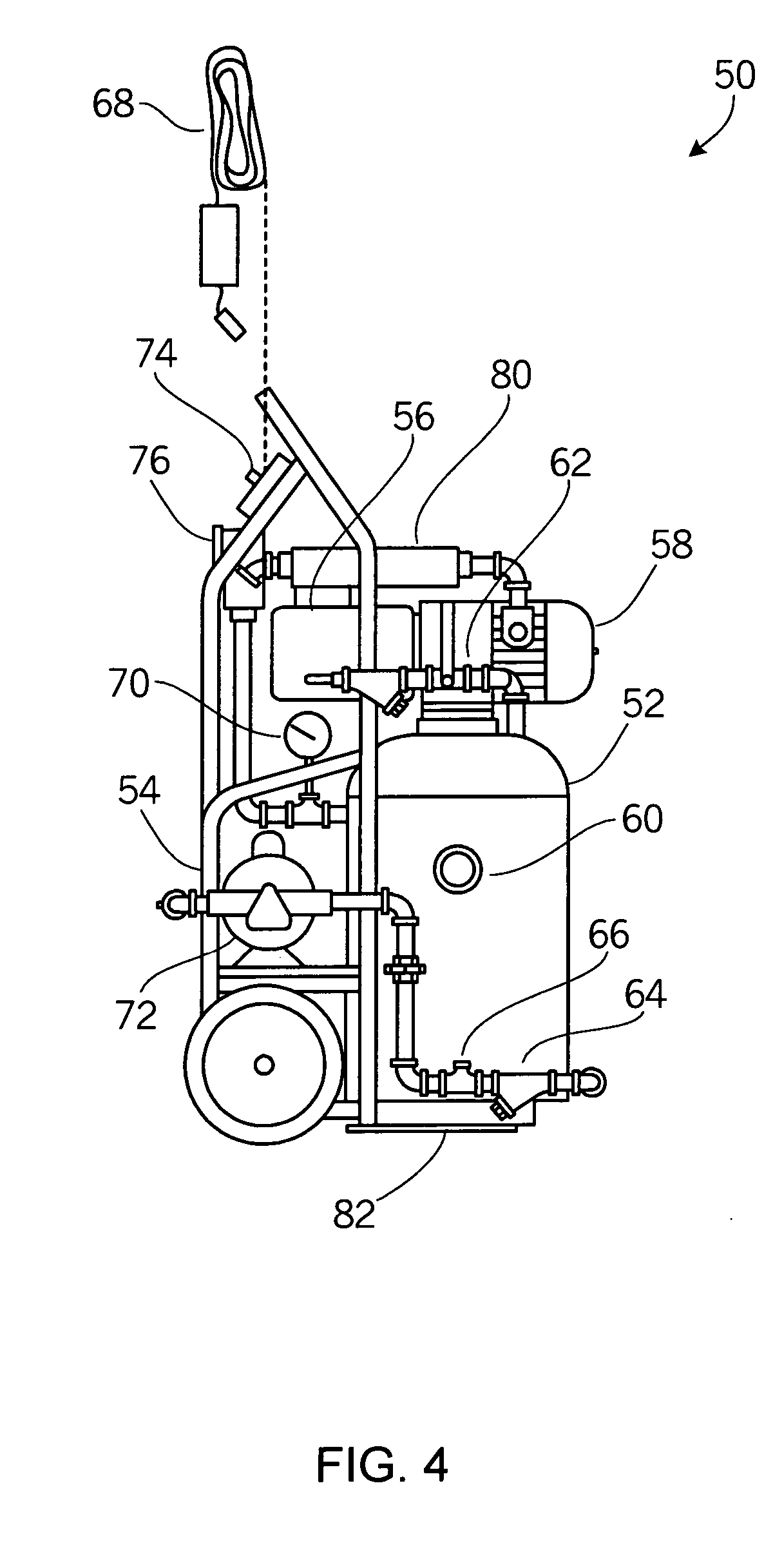 Brevet Us20050252664 Fire Protection Sprinkler System Google Brevets Wiring Diagram 96 Nissan Pickup Patent Drawing