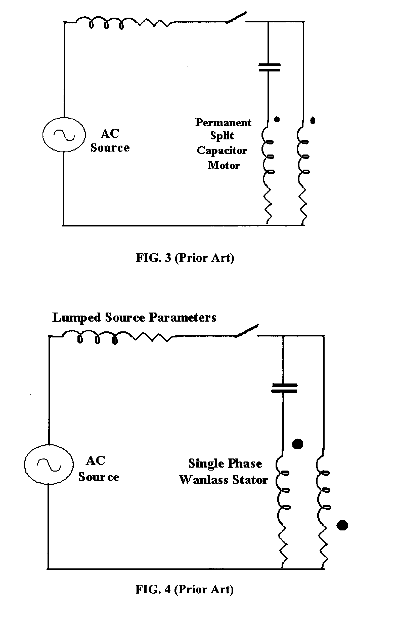 Patent Us20050269892 Induction Machine Rotors With Improved Permanent Split Capacitor Run Ac Motor Drawing