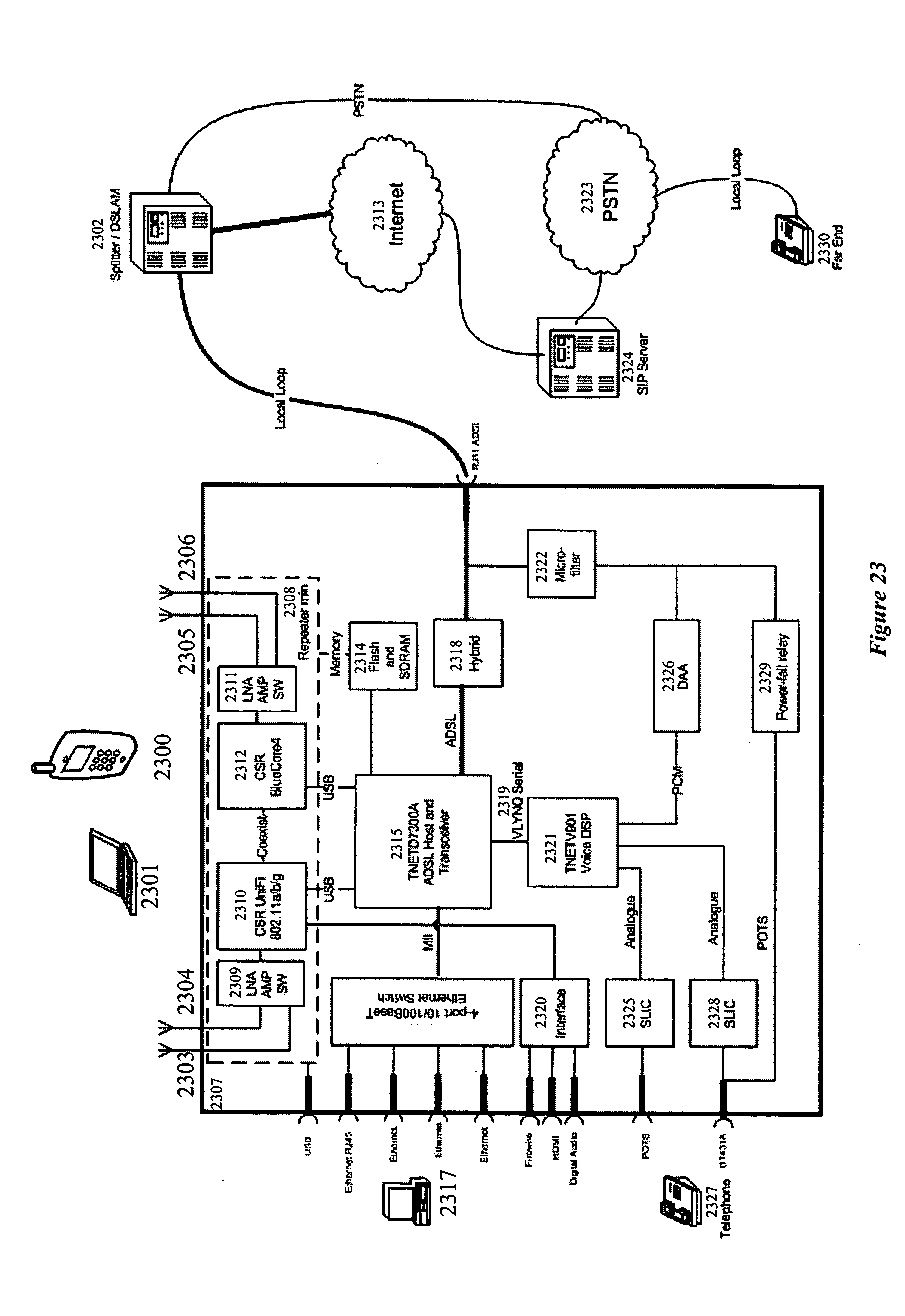 Us20050286466 System For Providing Mobile Voip Visiblelight Audio Transmitter Circuit Diagram Tradeoficcom Patent Drawing