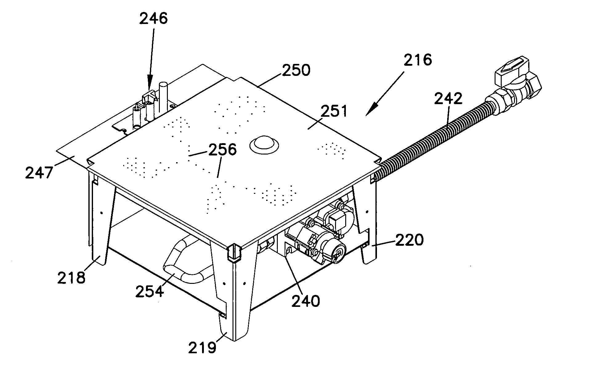 Patent US20060003276 - Hydrogen gas fireplace - Google Patentsuche