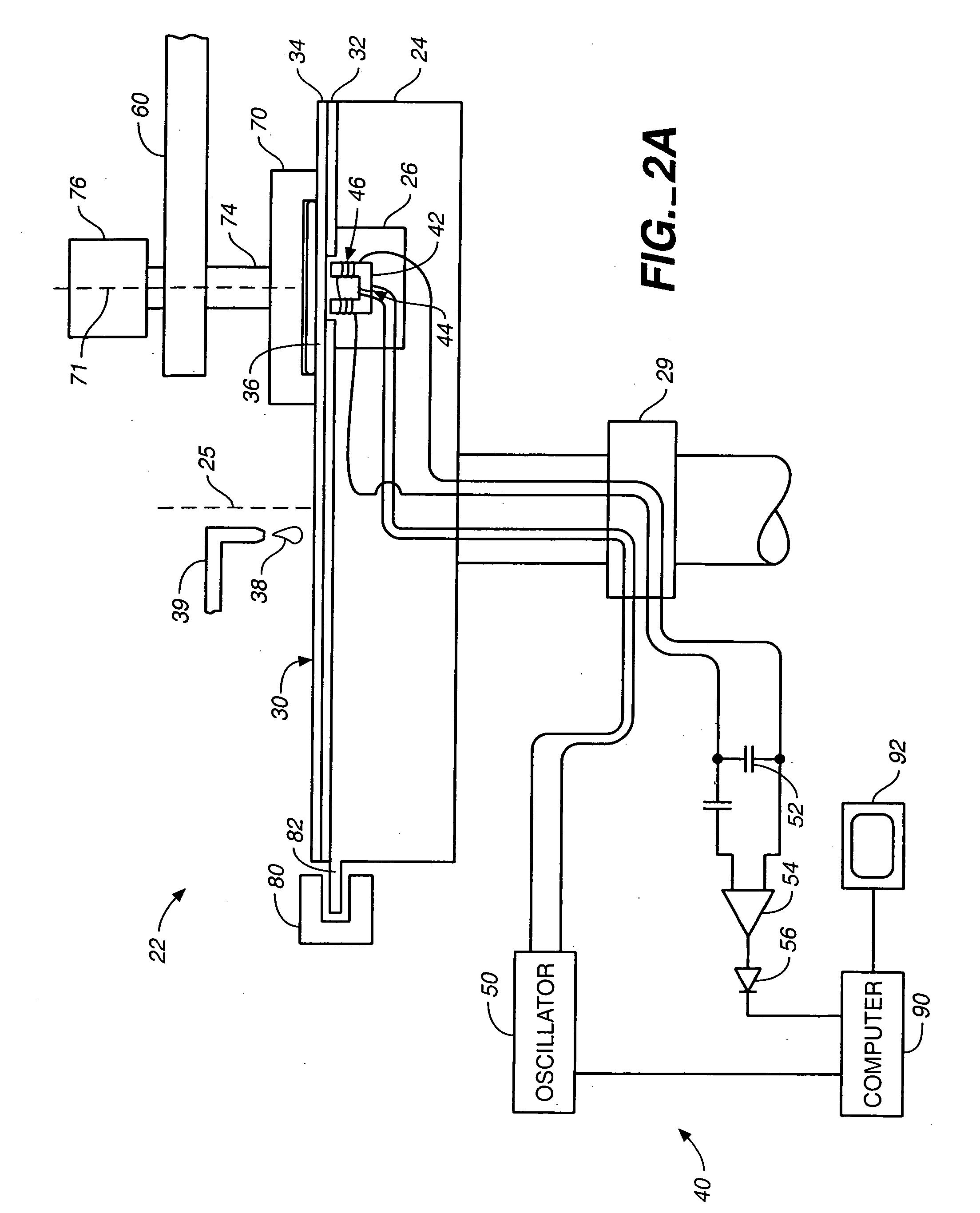 Patent Us20060009128 Eddy Current Sensing Of Metal Removal For Sensor Circuit Diagram Including Drawing