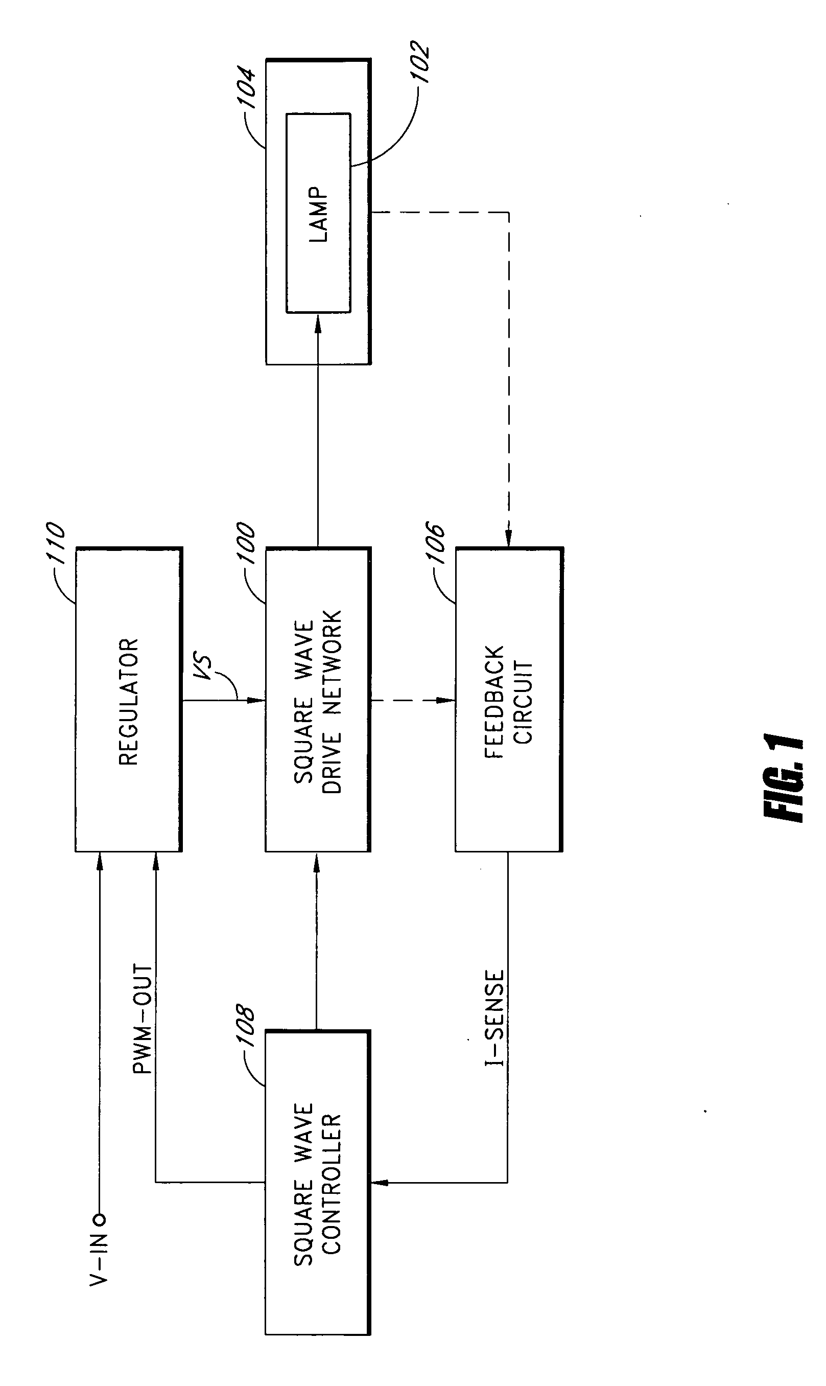 patent us20060022612 - square wave drive system