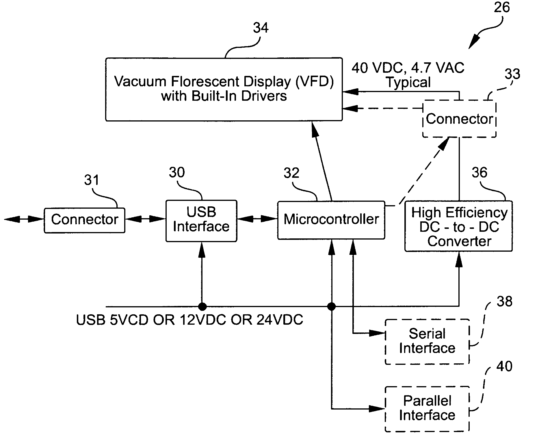 Patent Us20060022970 Customer Pole Display And Interface Google 12v To 24v Dc Converter Circuit Drawing
