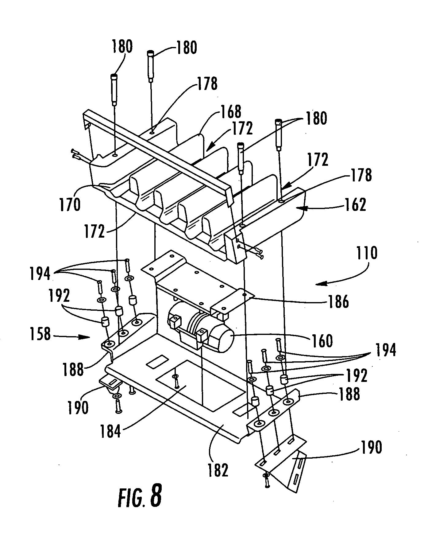 Patent Us20060037487 Multi Lane Fruit Guide Assembly
