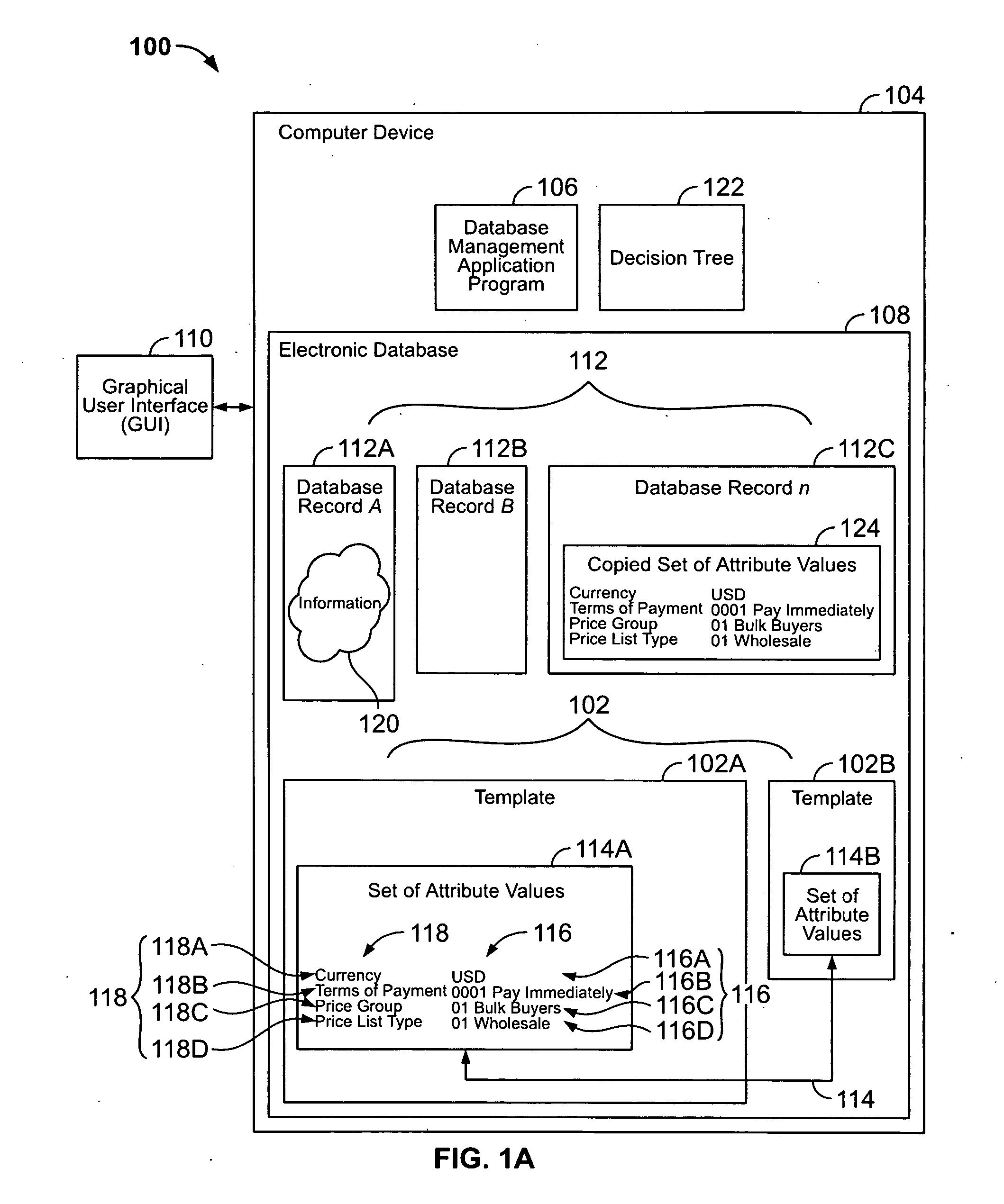 patente us20060085470 database record templates patentes do google. Black Bedroom Furniture Sets. Home Design Ideas