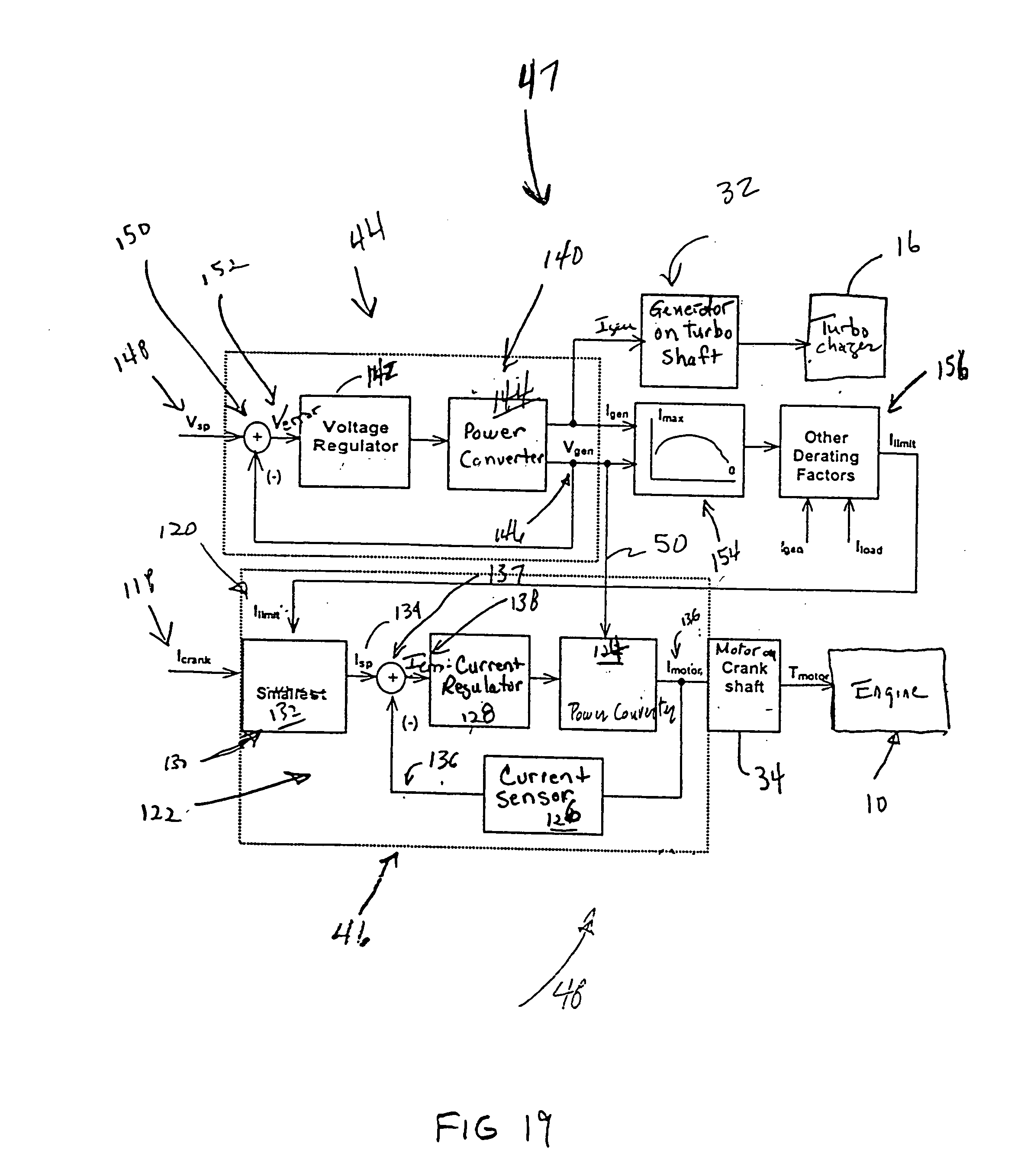 Electric Turbocharger Patents: Electric Turbocompound Control