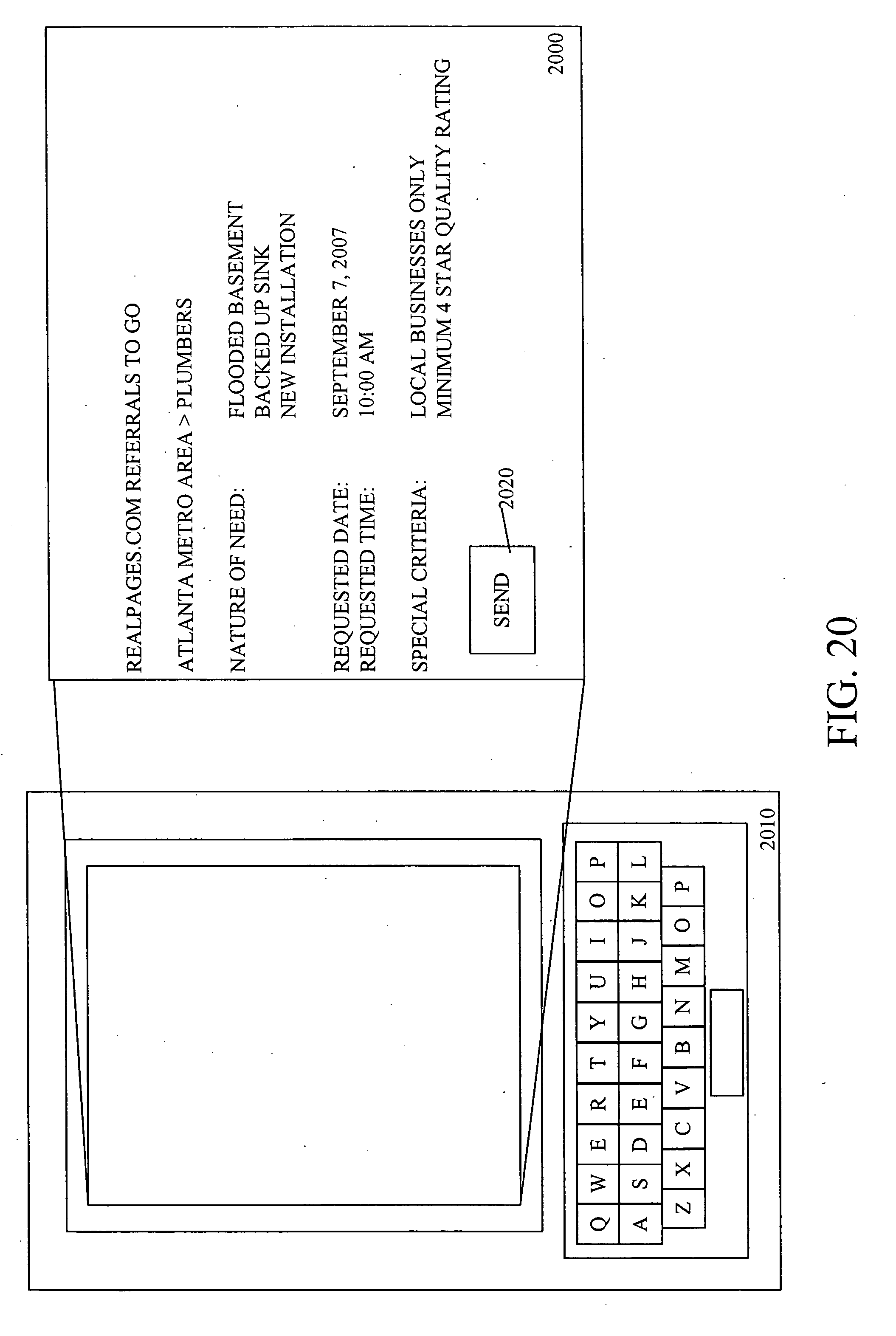 Patent Us20060129444 Appointment Arbiter Google Patentsuche Wiring Instructions Interactive Brokers Drawing