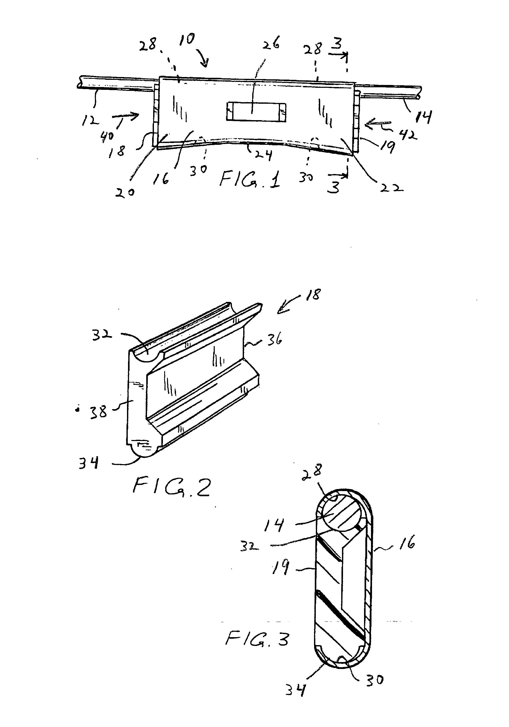 patent us20060148334 - electrical conductor wedge connector splice