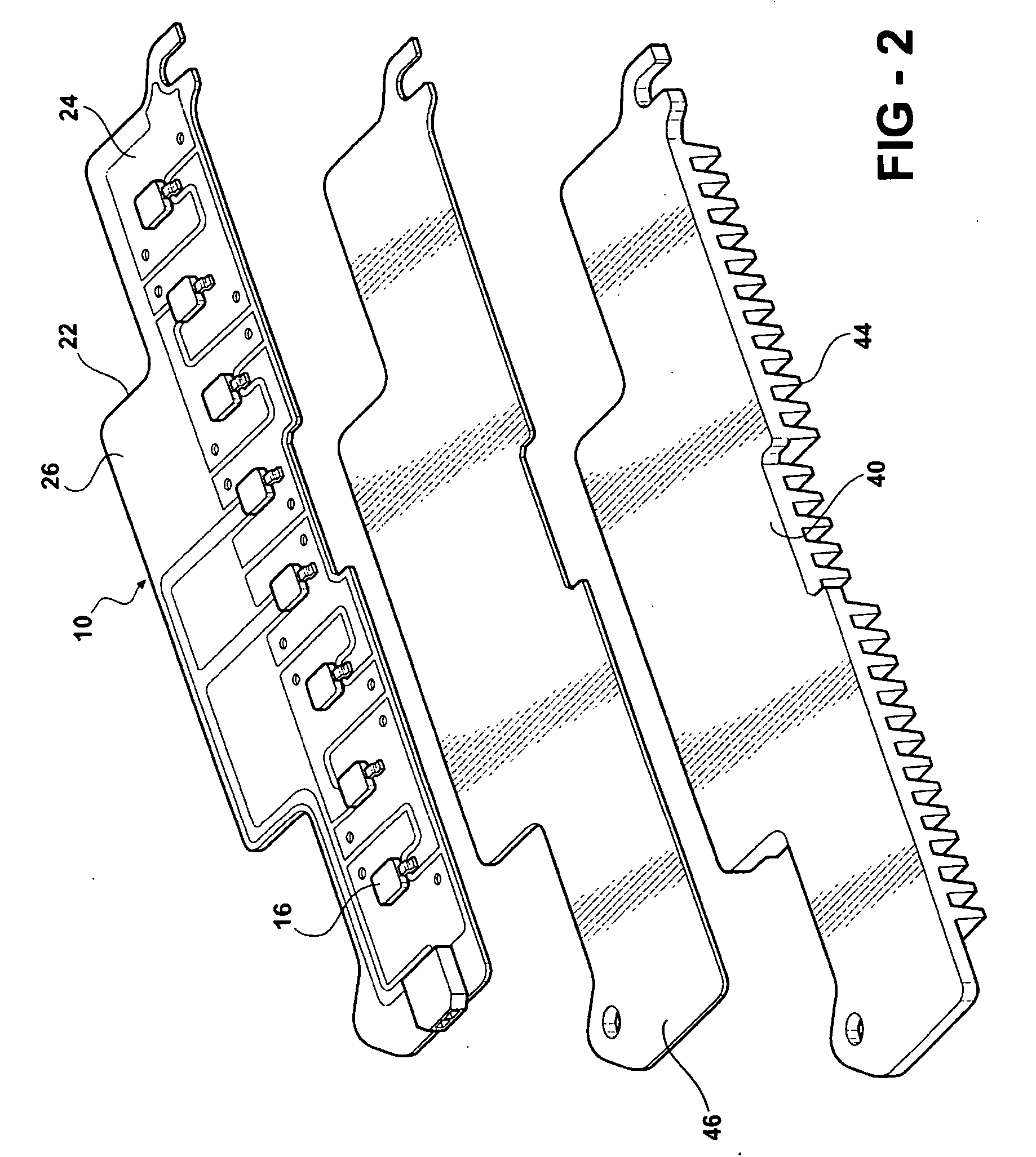 patent us20060181878 - led light module assembly