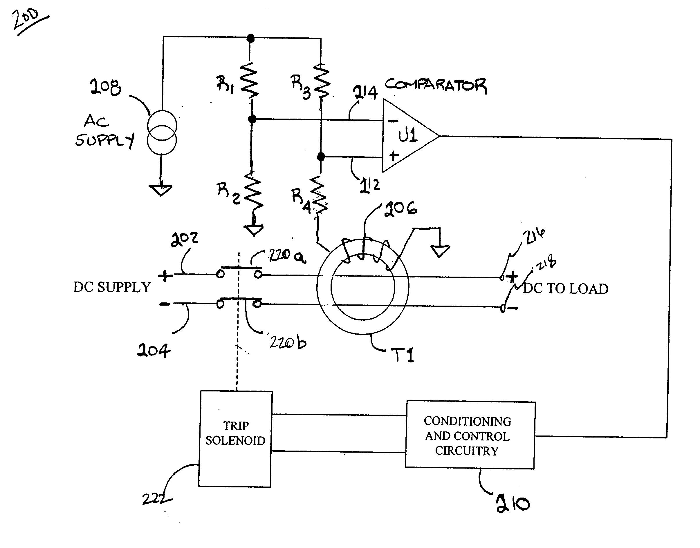 Dc Ground Fault Circuit Interrupter Best Secret Wiring Diagram Pluggfciground Interrupterplug Brevet Us20060187594 Google Rh Dj Plug
