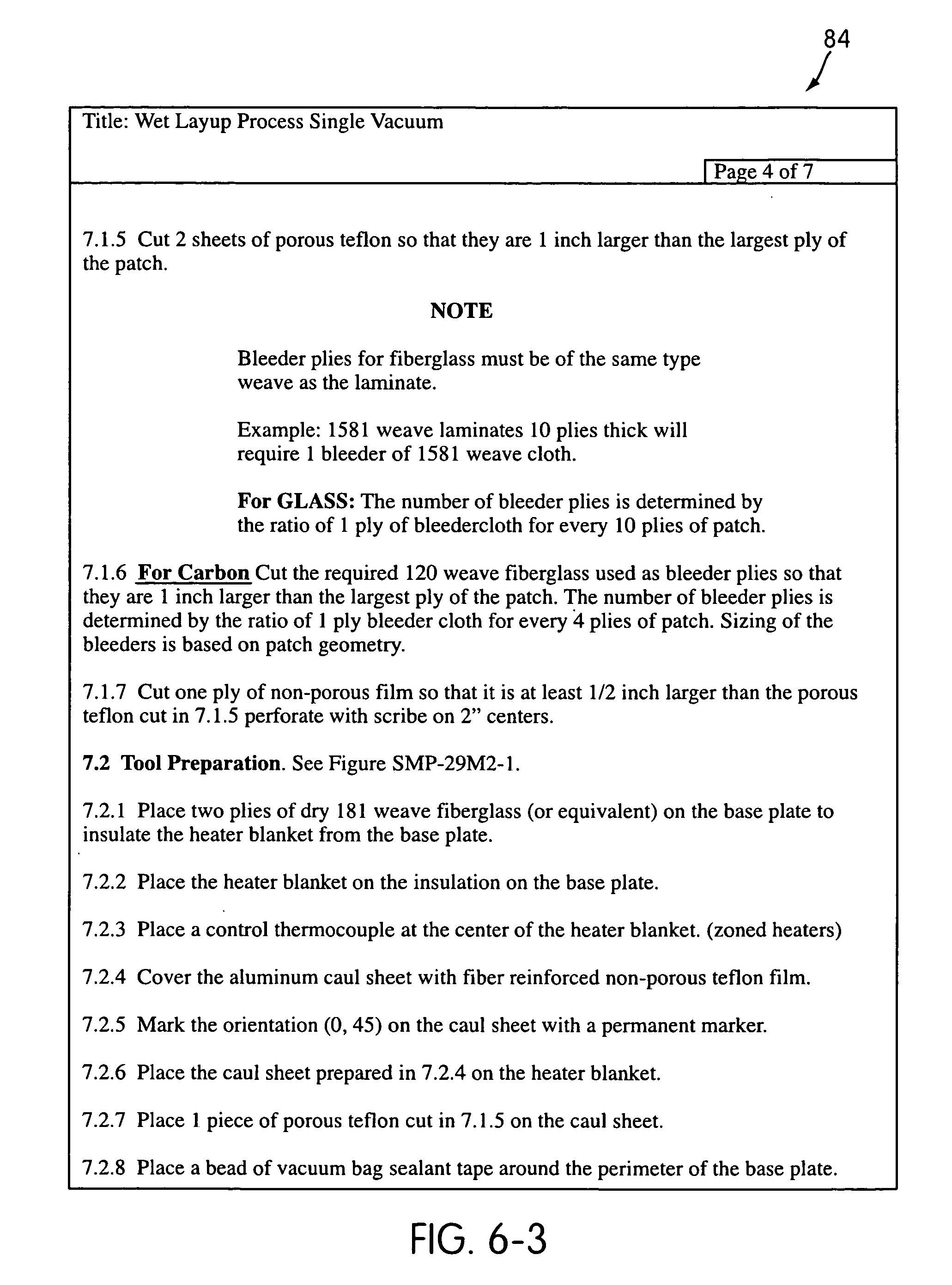 Patent US20060191624 - Single vacuum debulk composite panel