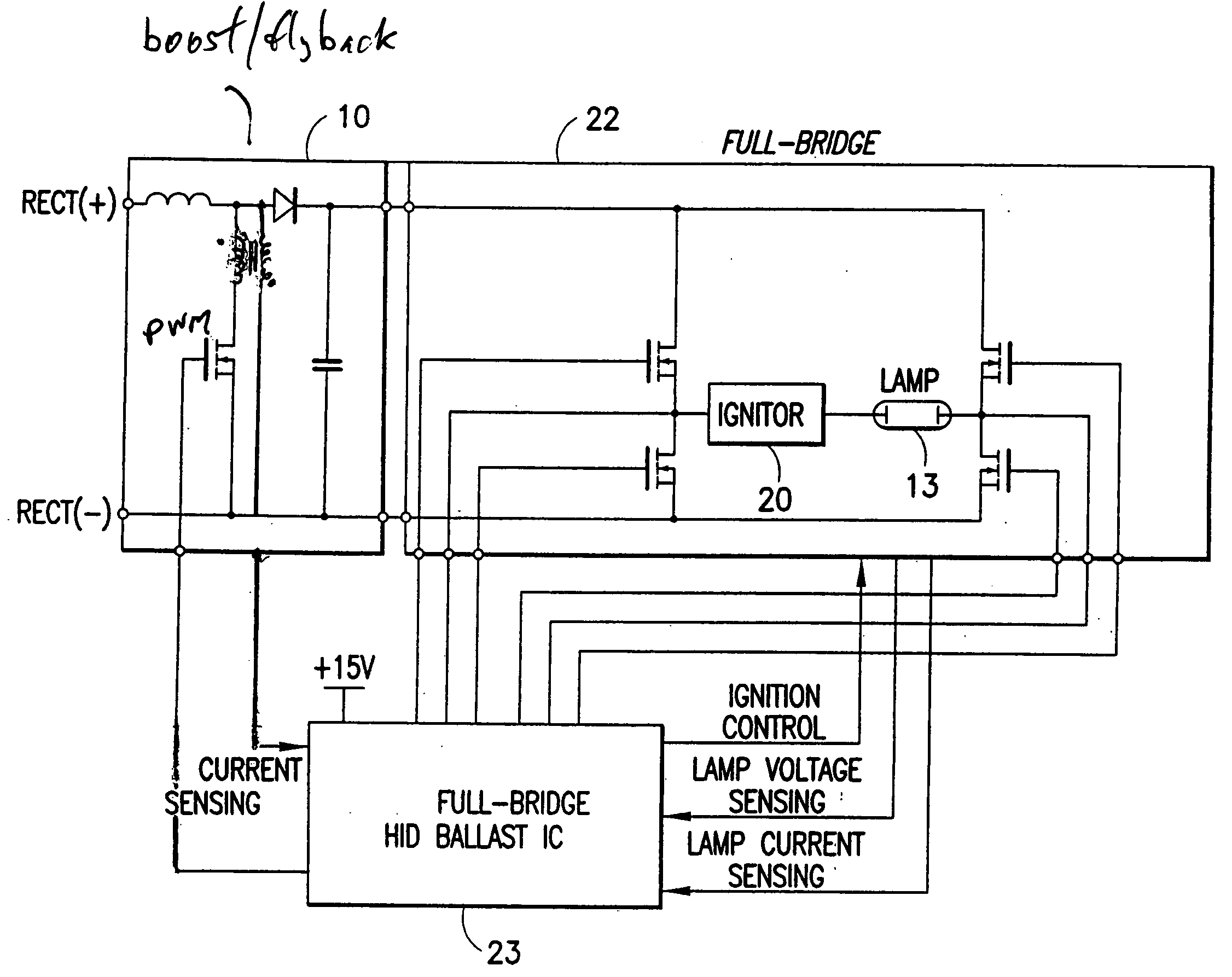 Hid Ballast Circuit Diagram Simple Wiring Options Using Incandescent And Capacitor Ledandlightcircuit Patent Us20060197470 Automotive High Intensity Discharge Lamp Harness