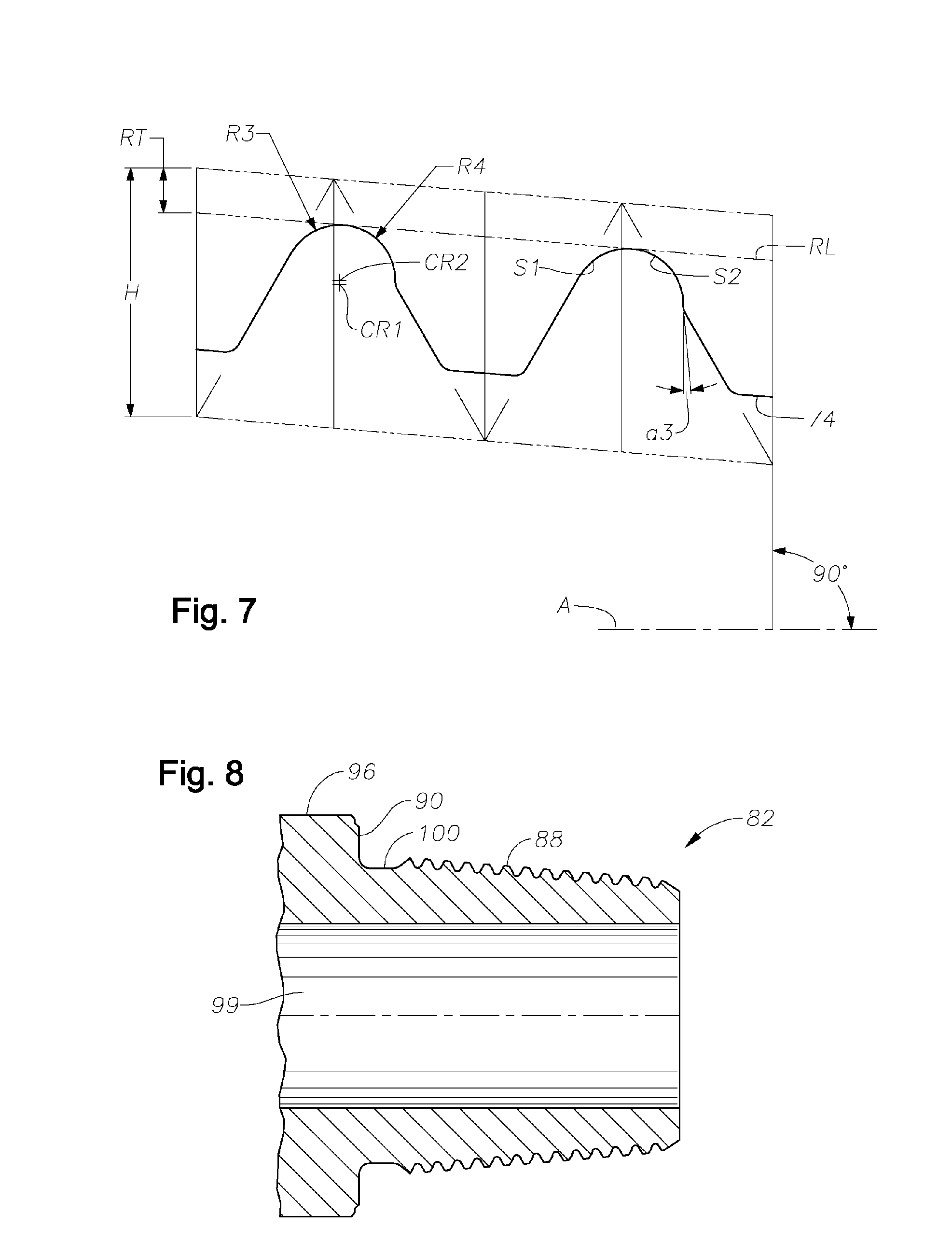 Patent US20060214421 - Fatigue Resistant Rotary Shouldered