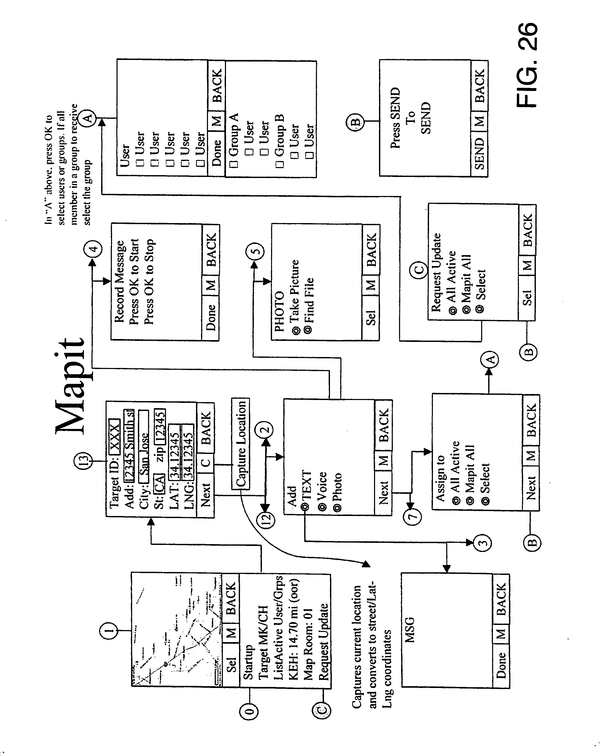 Us20060223518a1 location sharing and tracking using mobile phones us20060223518a1 location sharing and tracking using mobile phones or other wireless devices google patents fandeluxe Gallery