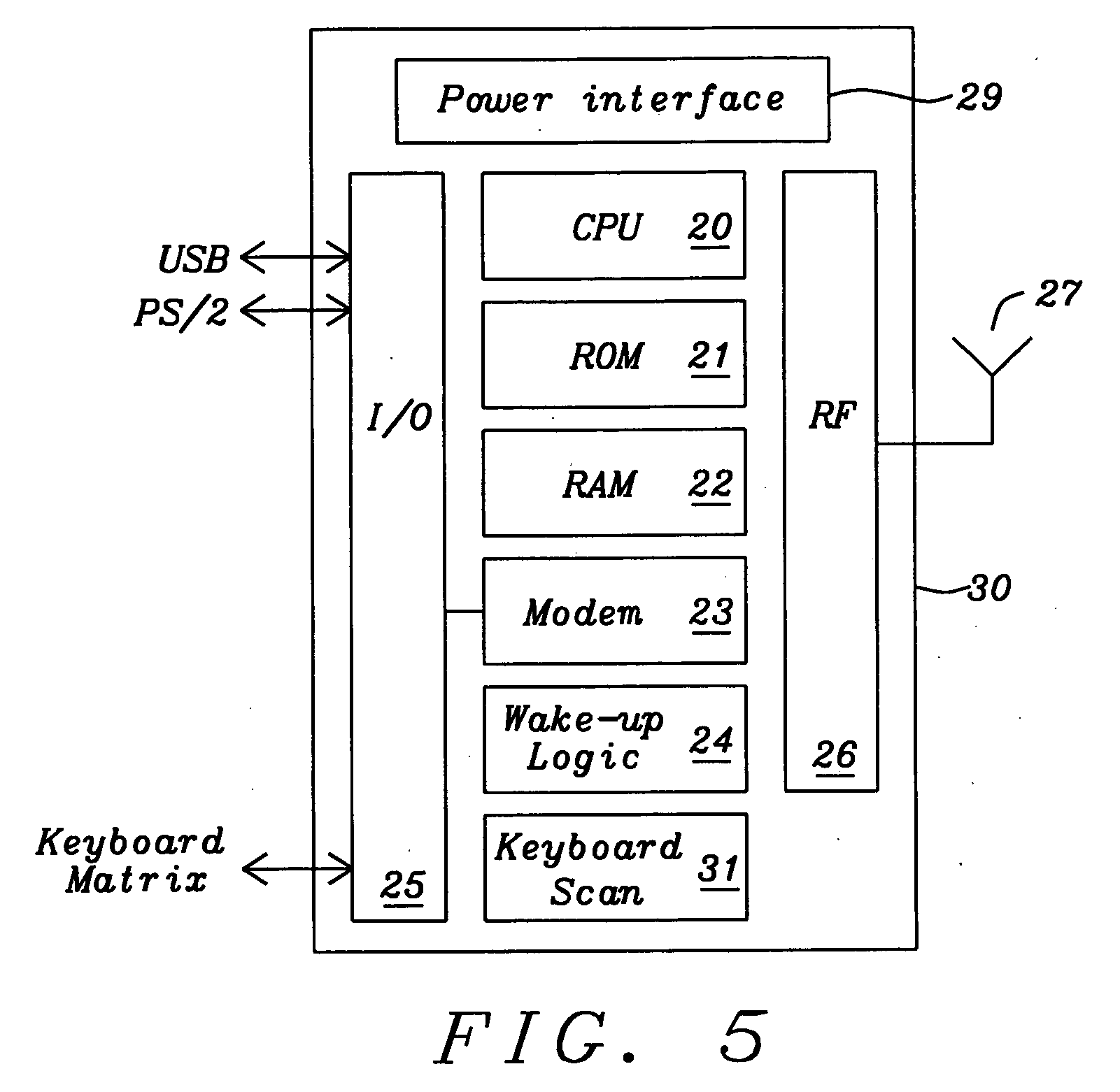Patent Us20060227112 Combined Keyboard And Wireless Transceiver Is A Typical Block Diagram Of Optical Mouse Transmitter Drawing