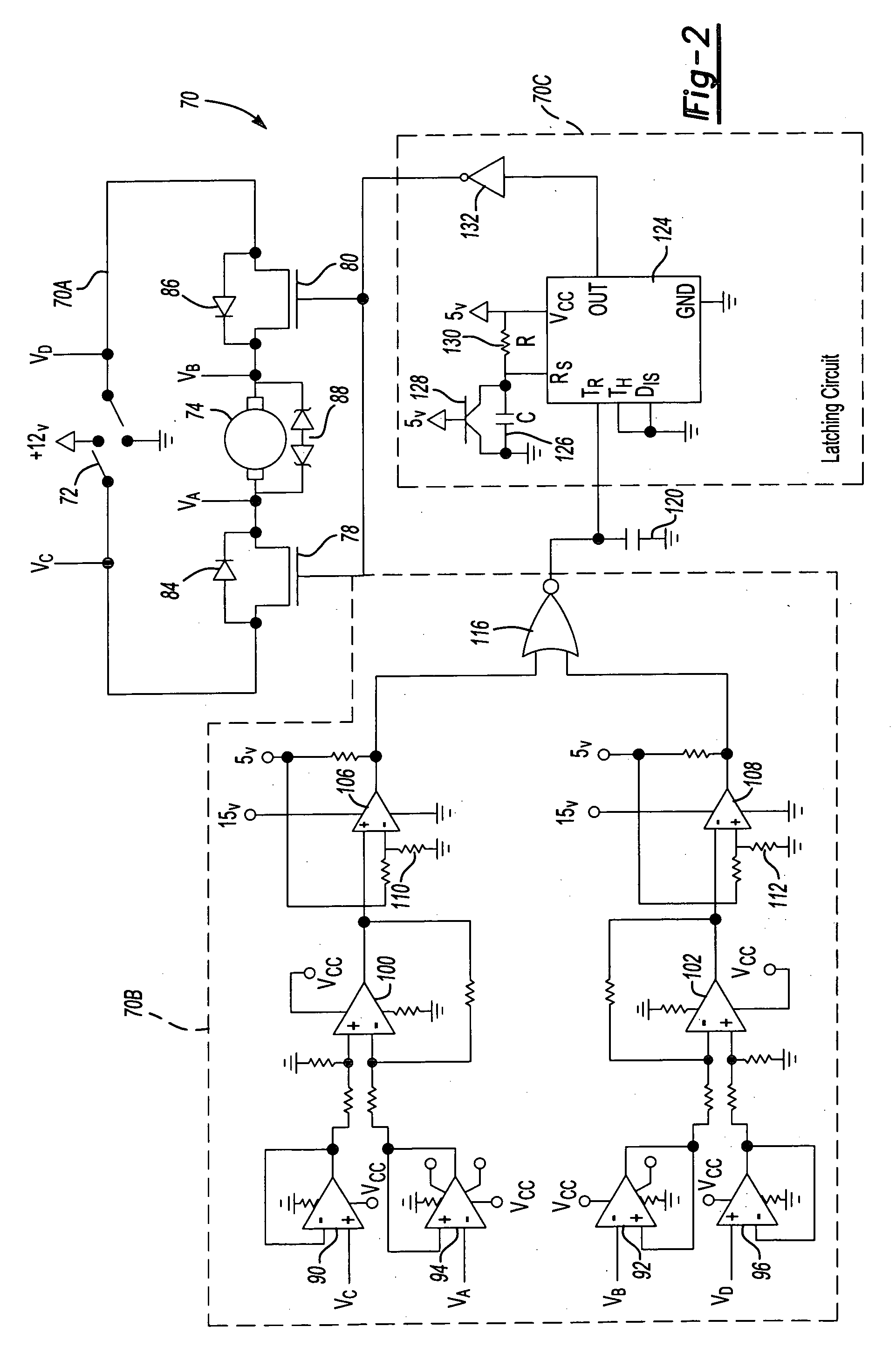 Patent Us20060232896 Bidirectional Motor Stall Protection Circuit Is The Dc Which Allows Forward And Reverse Drawing