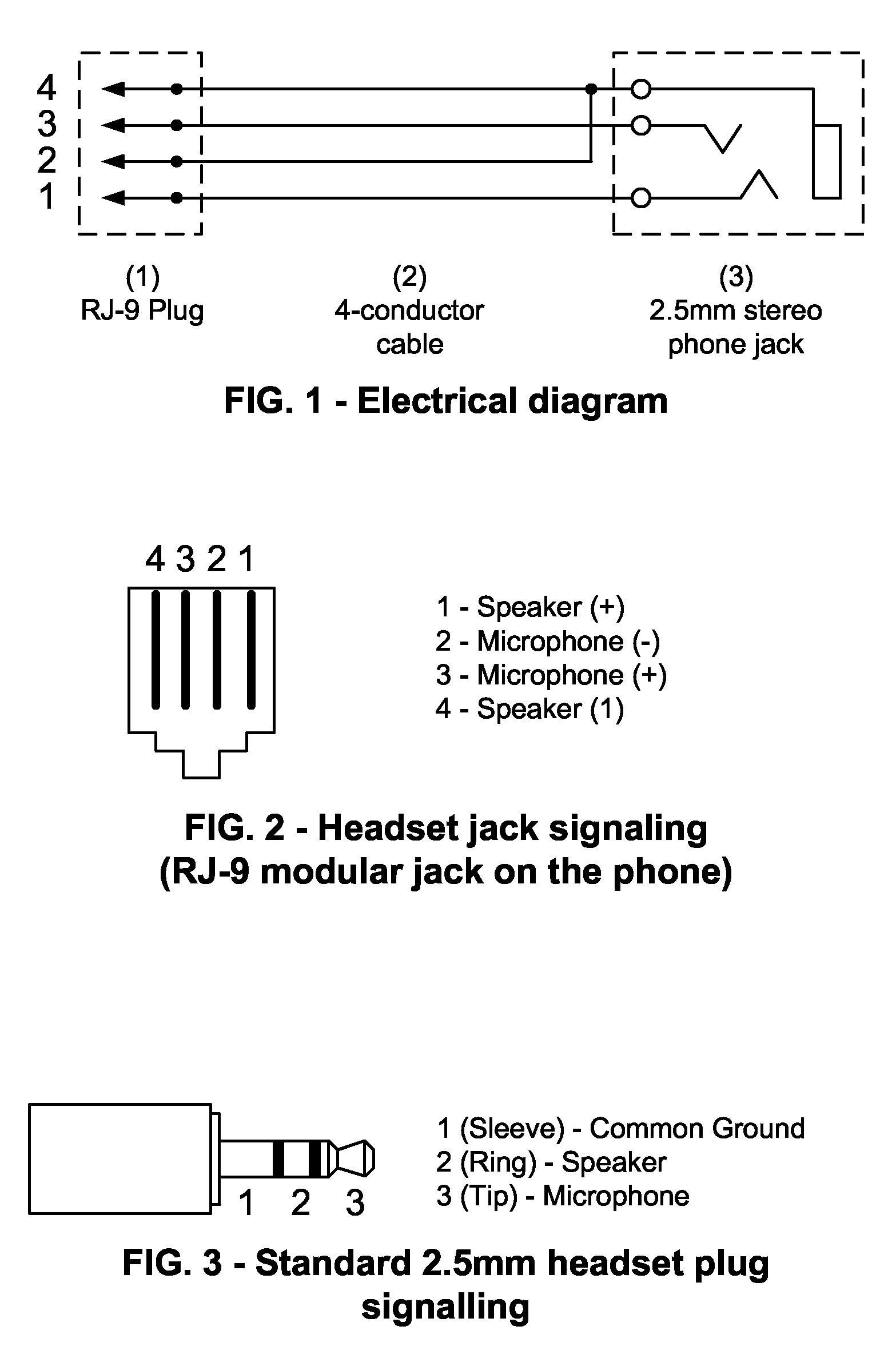 rj9 plug wiring diagram wiring diagram tutorial phone headset with 2 5mm  plug rj9 plug wiring